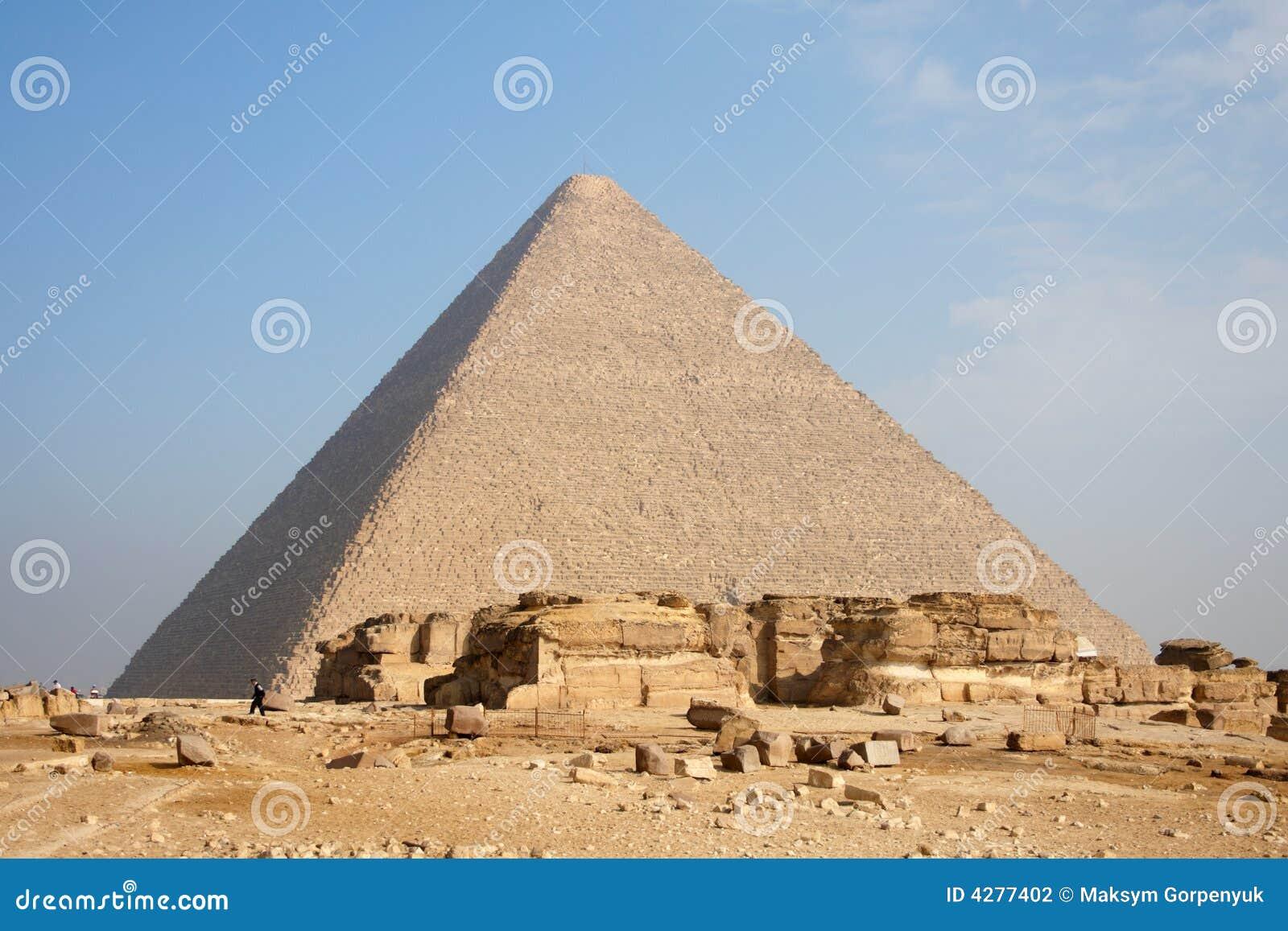 Pirâmide em Giza