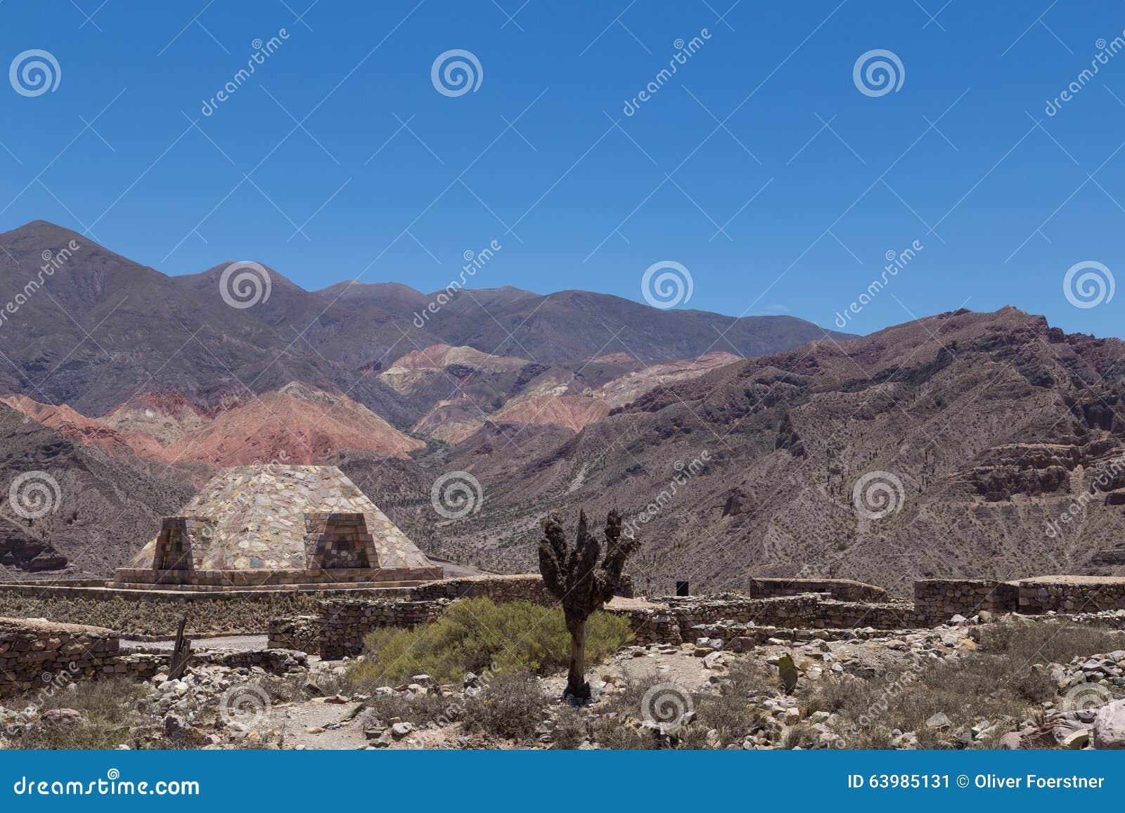 Pirâmide em Pucara de Tilcara