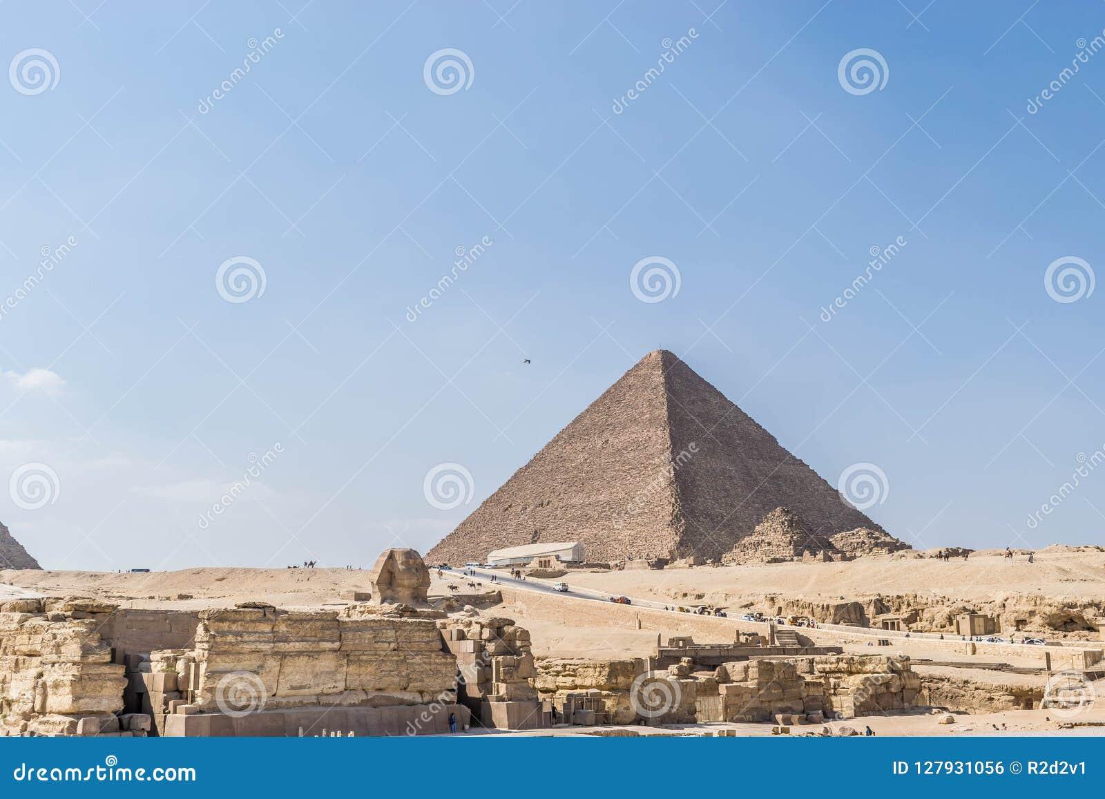 A pirâmide a maior de Egito