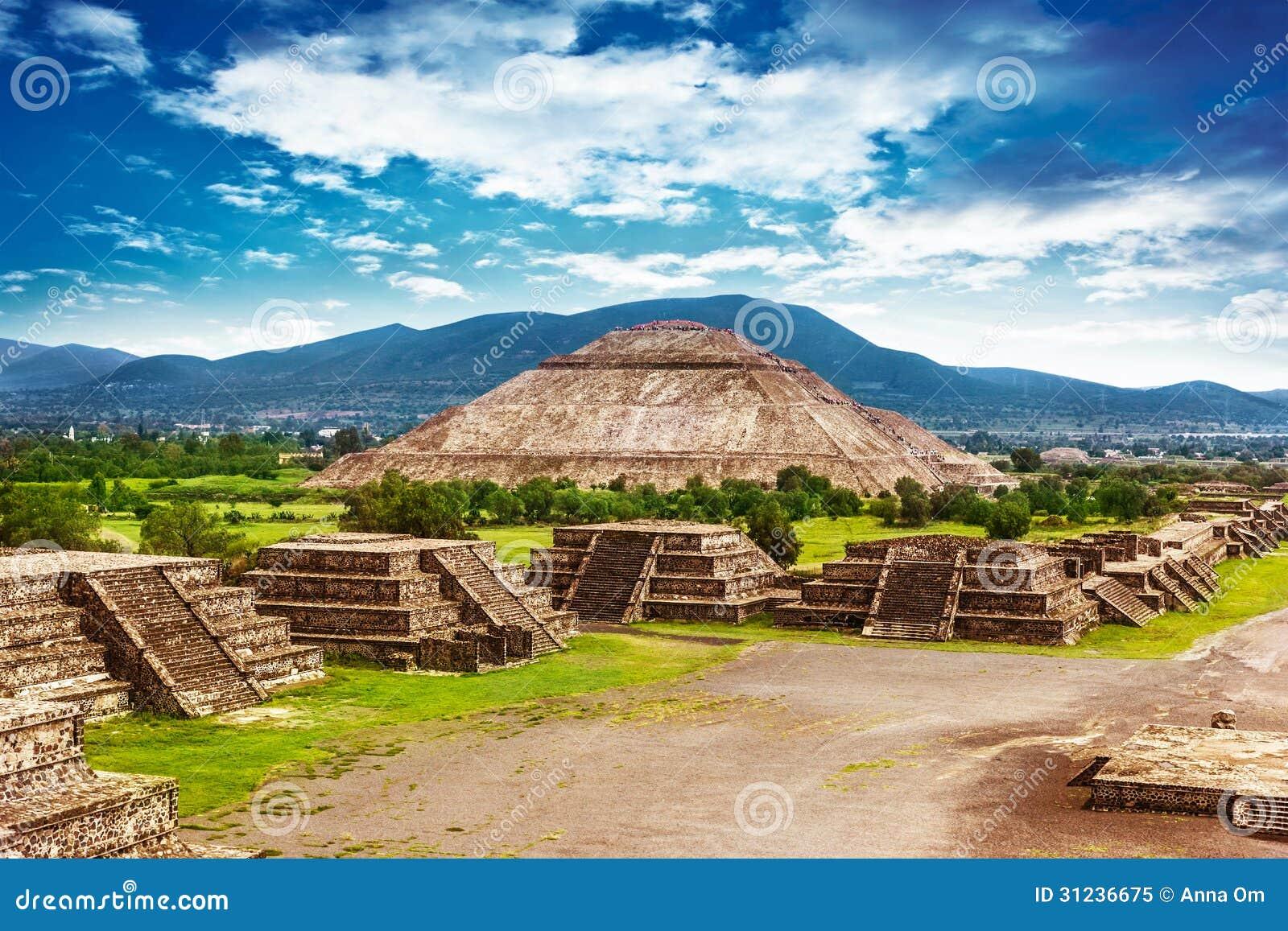 Pirâmides de México