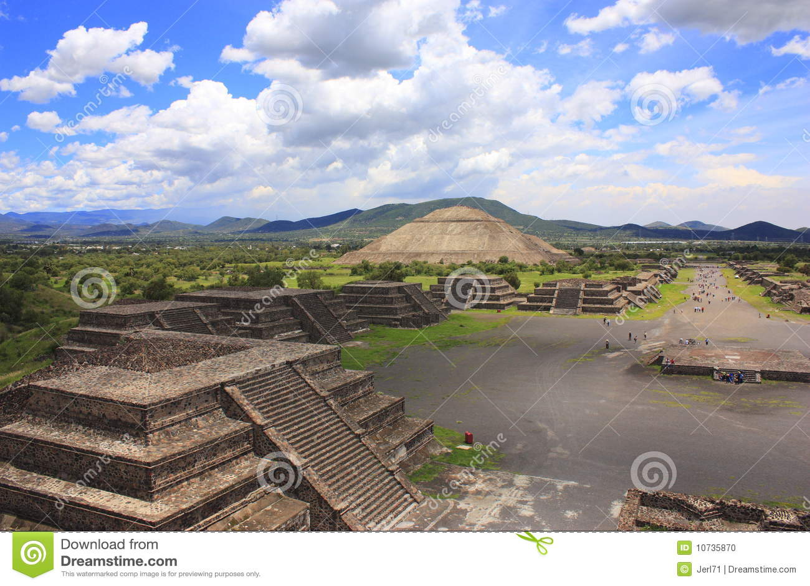 Pirâmides de Teotihuacan