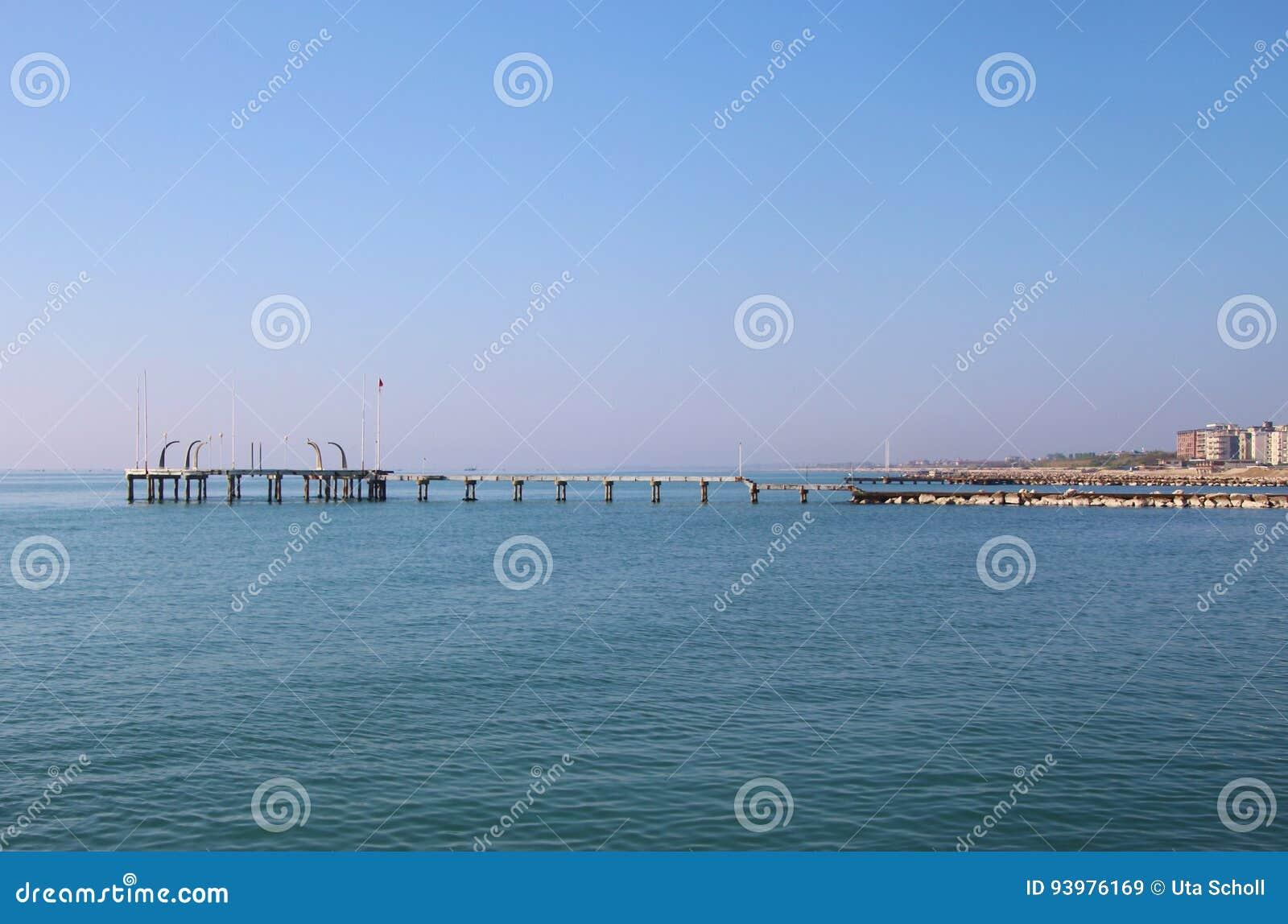 Pir på de öLido dina Venezia, Italien