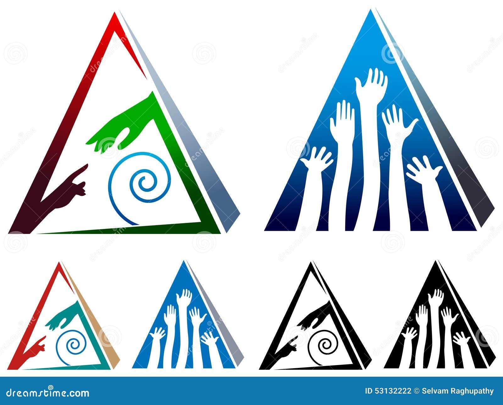 Piramide d aiuto