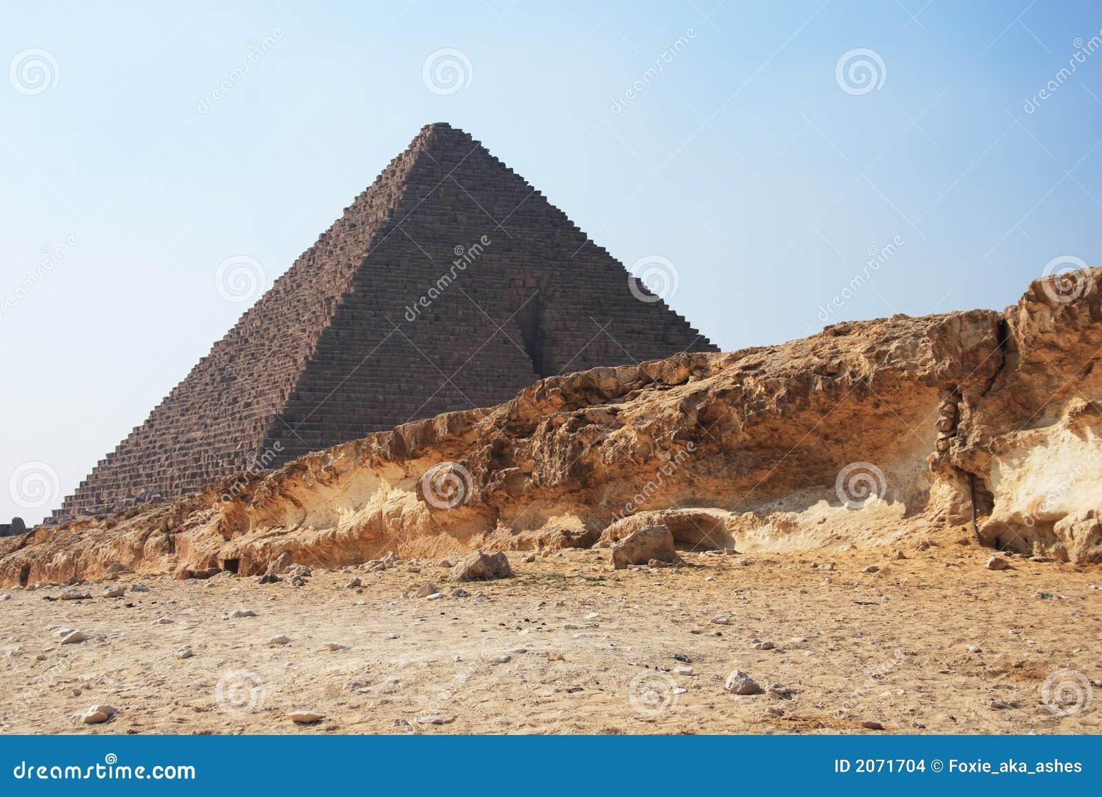 Piramide nell Egitto