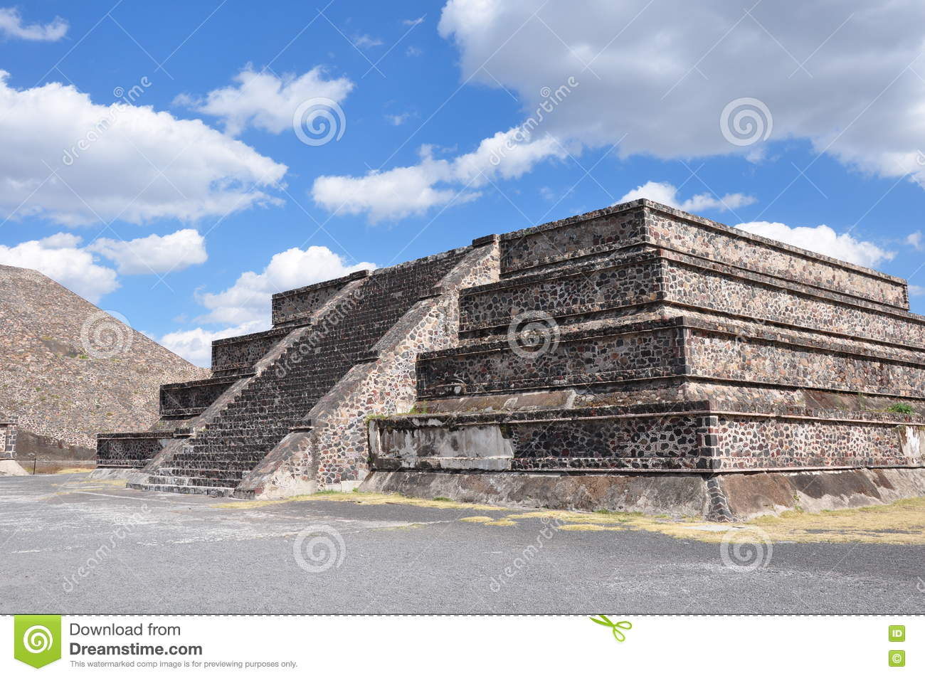 Piramides De Teotihuacan Mexico Stock Image Image Of Mexican City 73981075