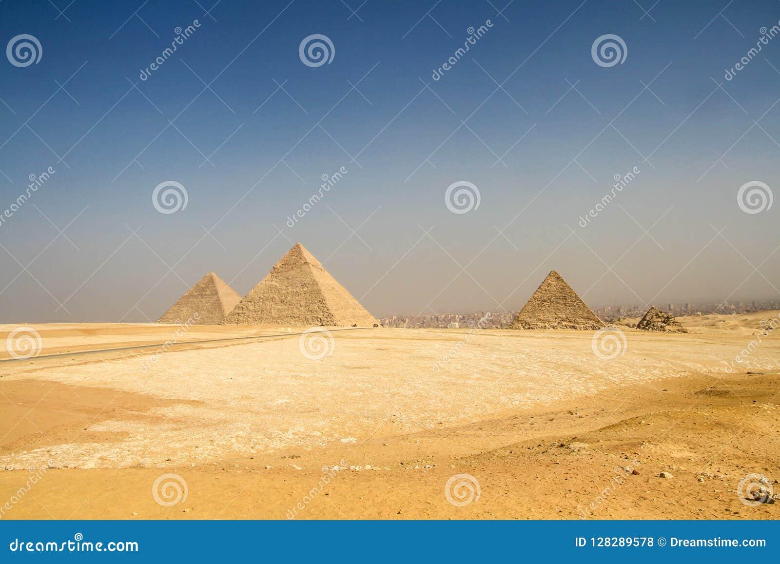 Piramides van Giza, Egypte