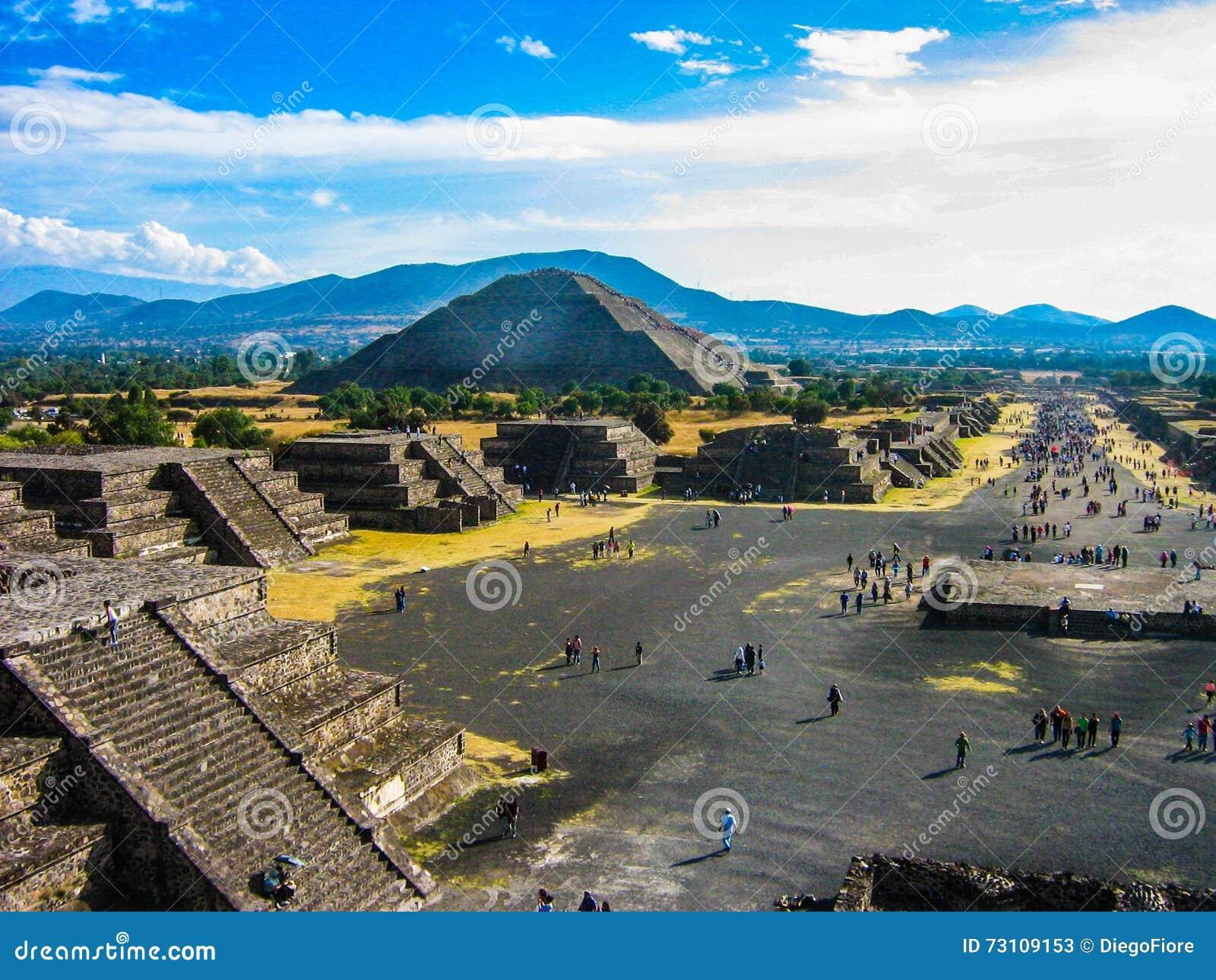 Piramides van Teotihuacan