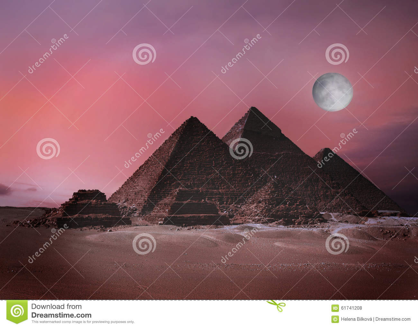 Piramidy w gizie egiptu