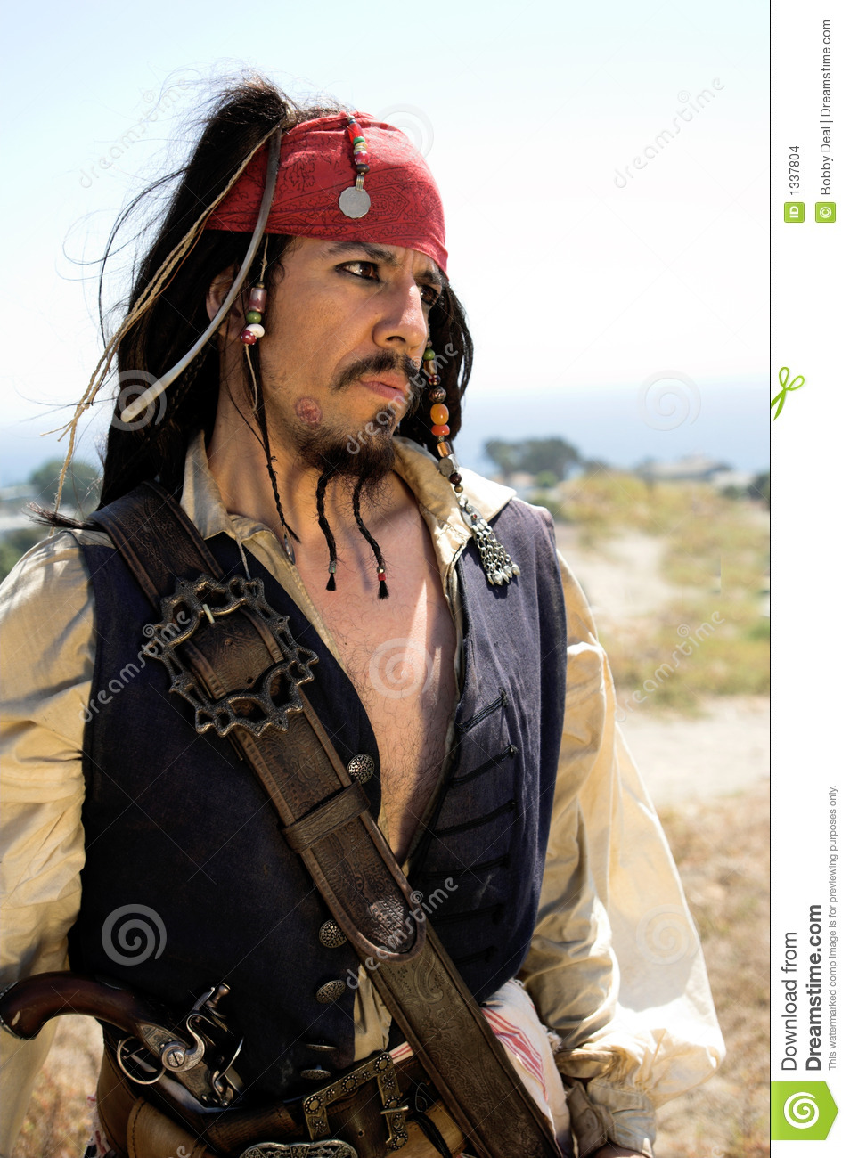 Pirate Captain Alert