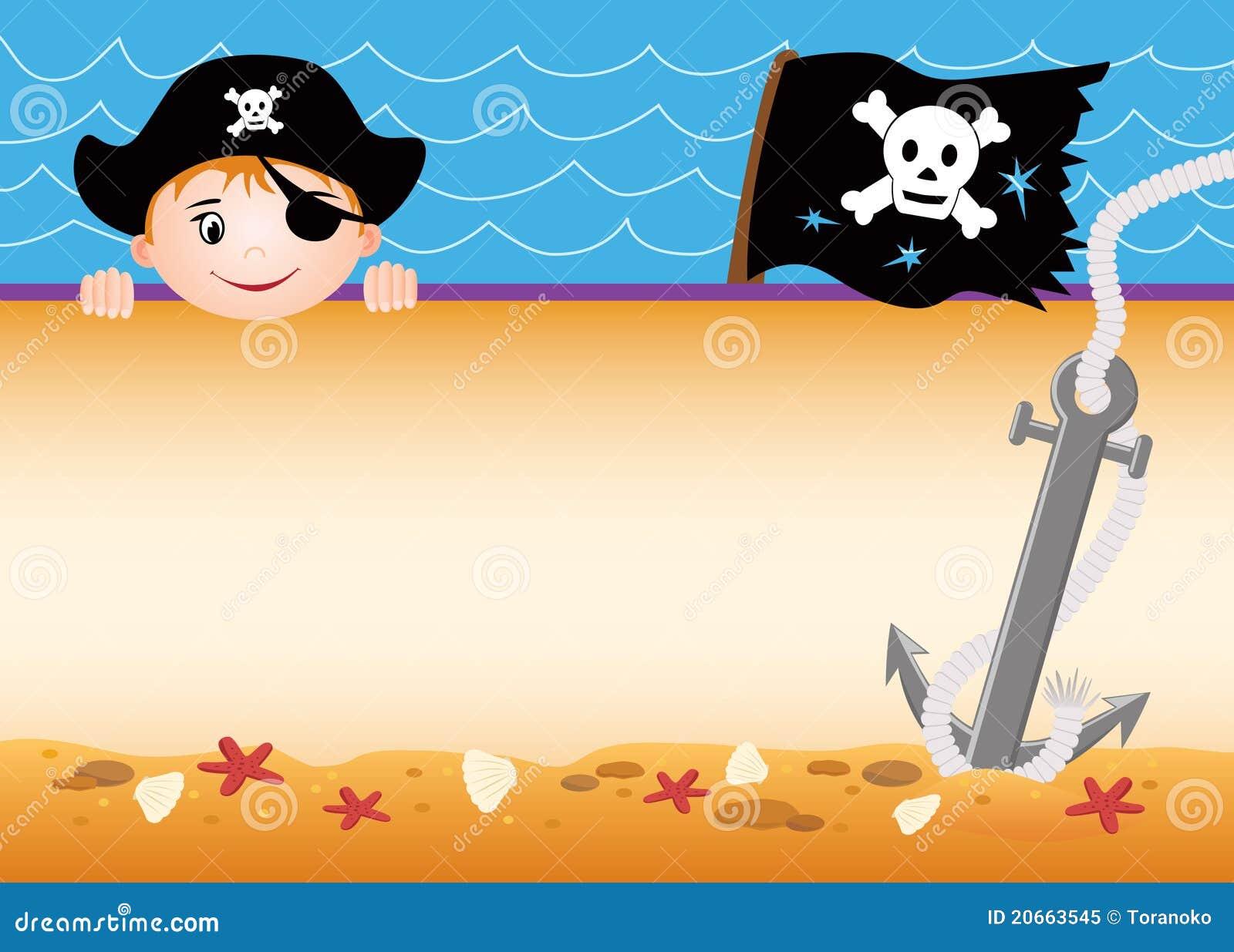 Cute Pirate Background