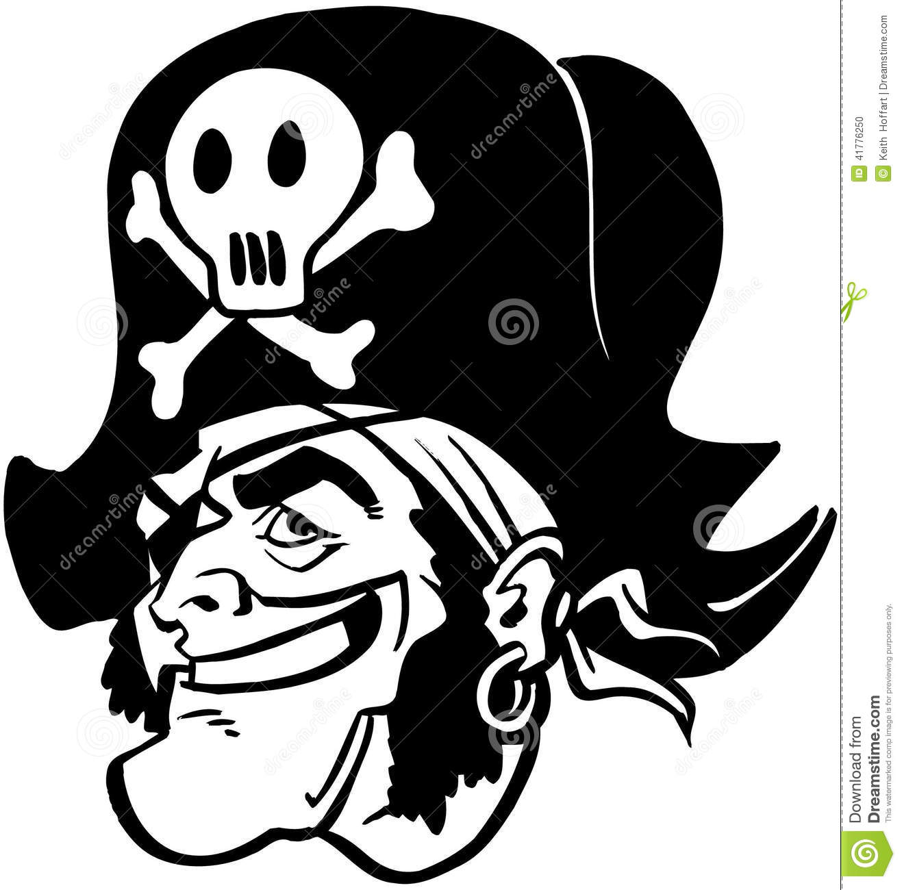 Pirate man Cartoon Vector Clipart created in Adobe Illustrator in EPS ...