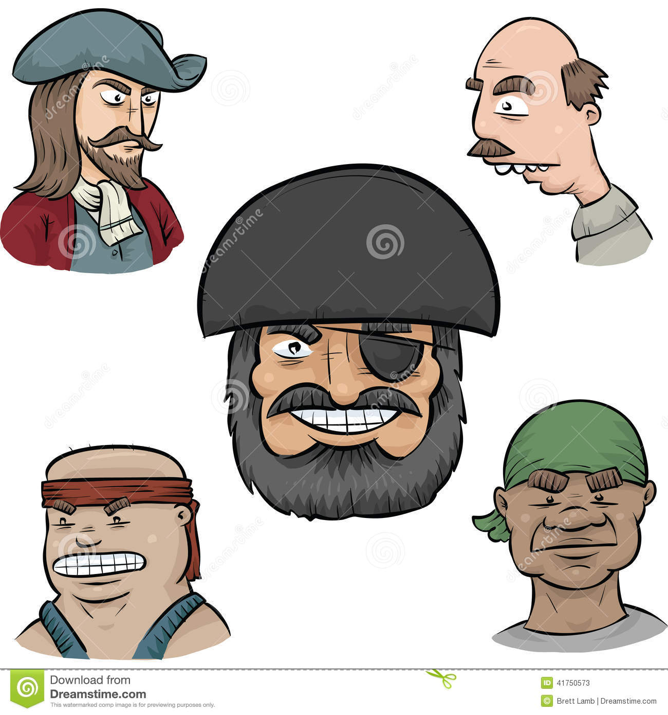 Uncategorized Pirate Faces pirate faces stock illustration image of crew tough 41750573 royalty free download faces