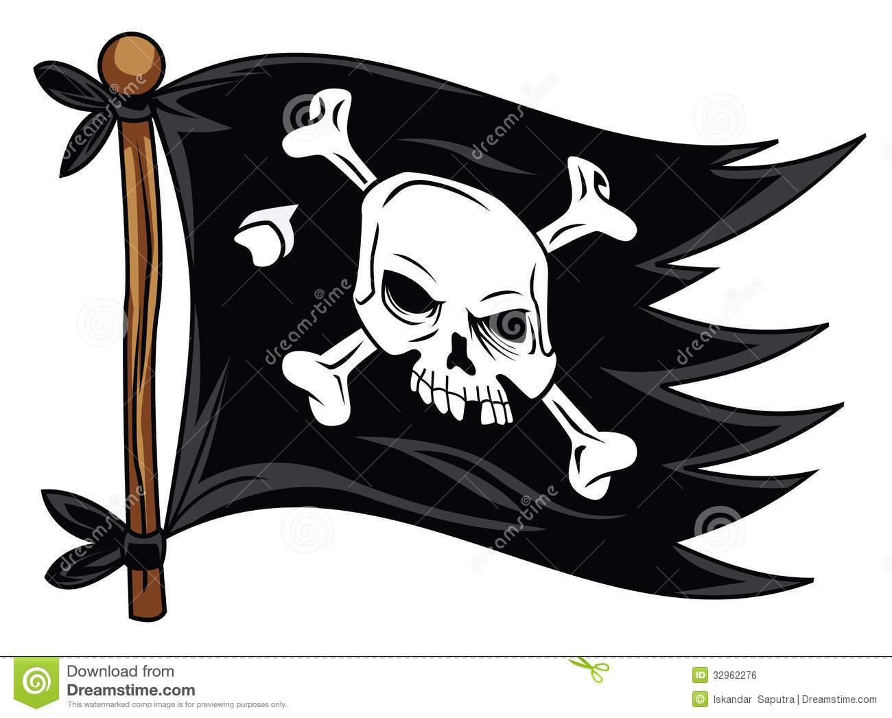 clipart pirate flag - photo #35