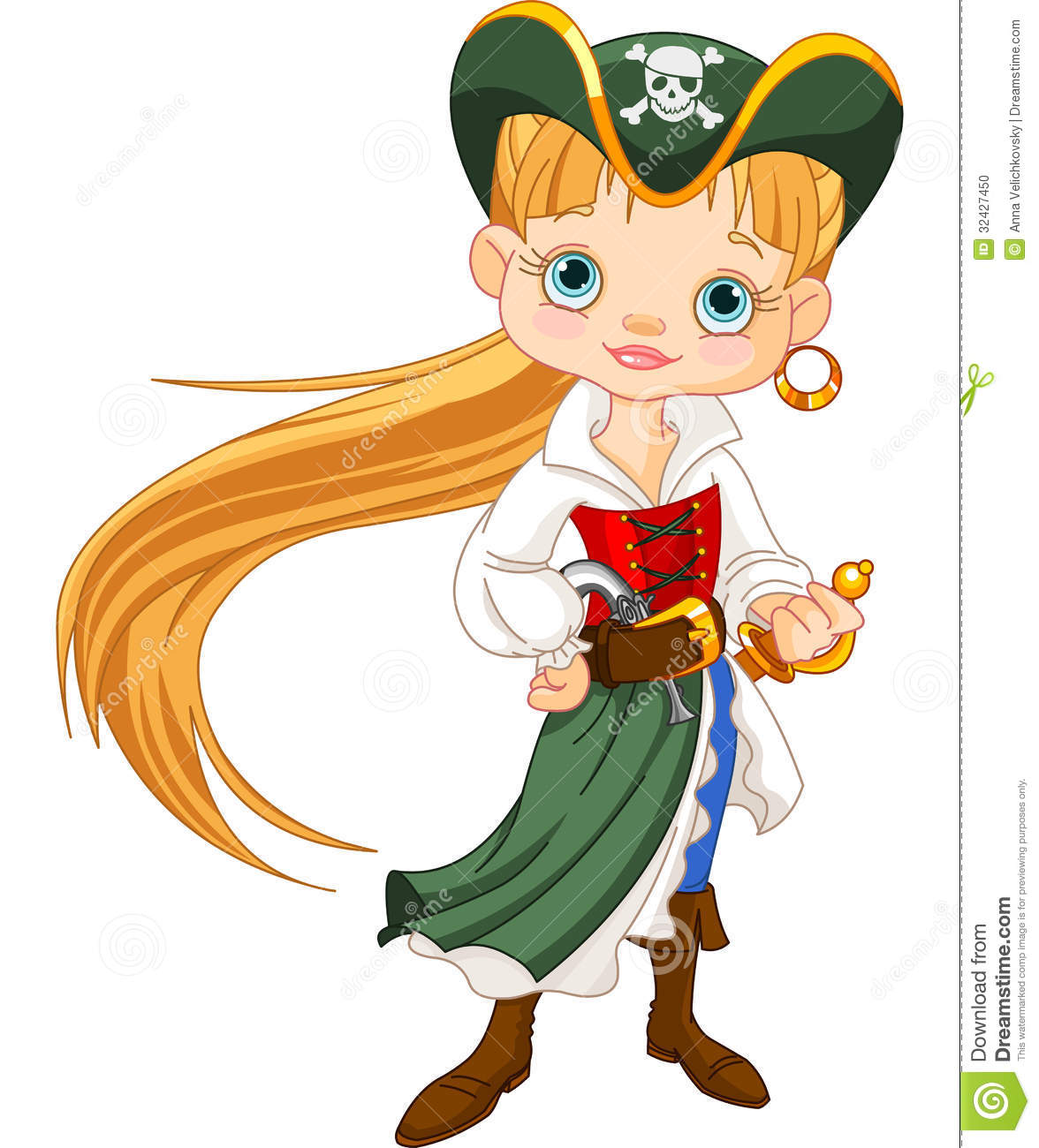 Displaying 19> Images For - Pirate Girl Clip Art For Kids...