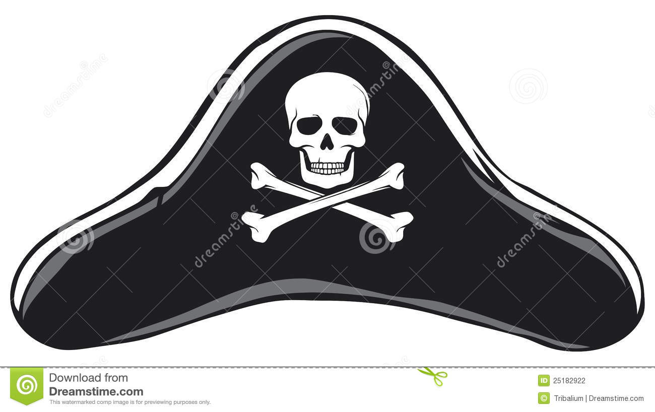 Pirate Hat Drawing Pirate hat Stock Photography
