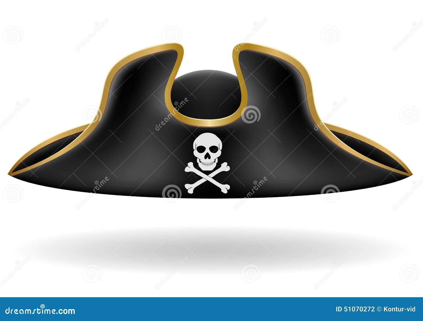 Tricorn hat clipart