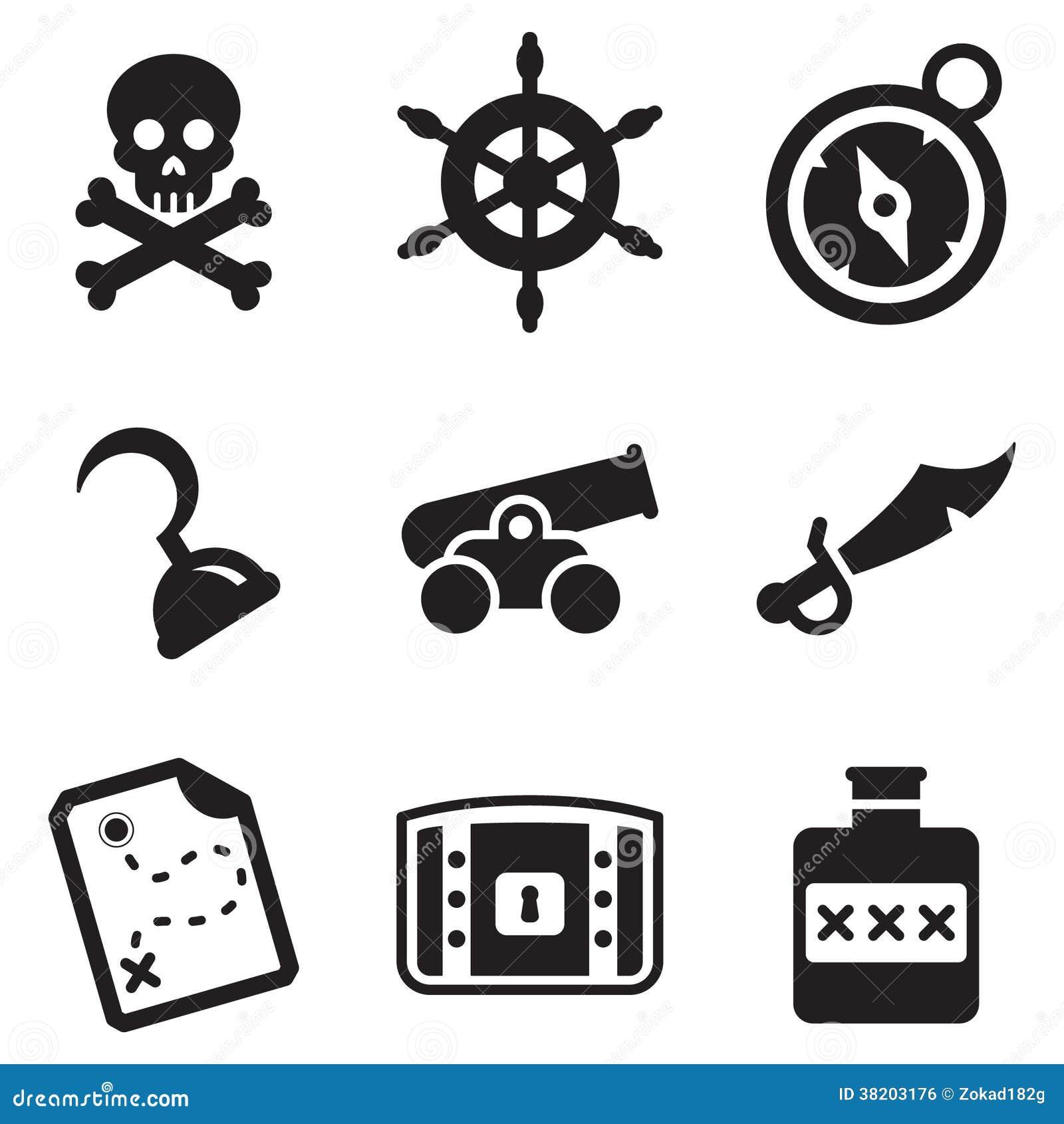 Piraten Symbole