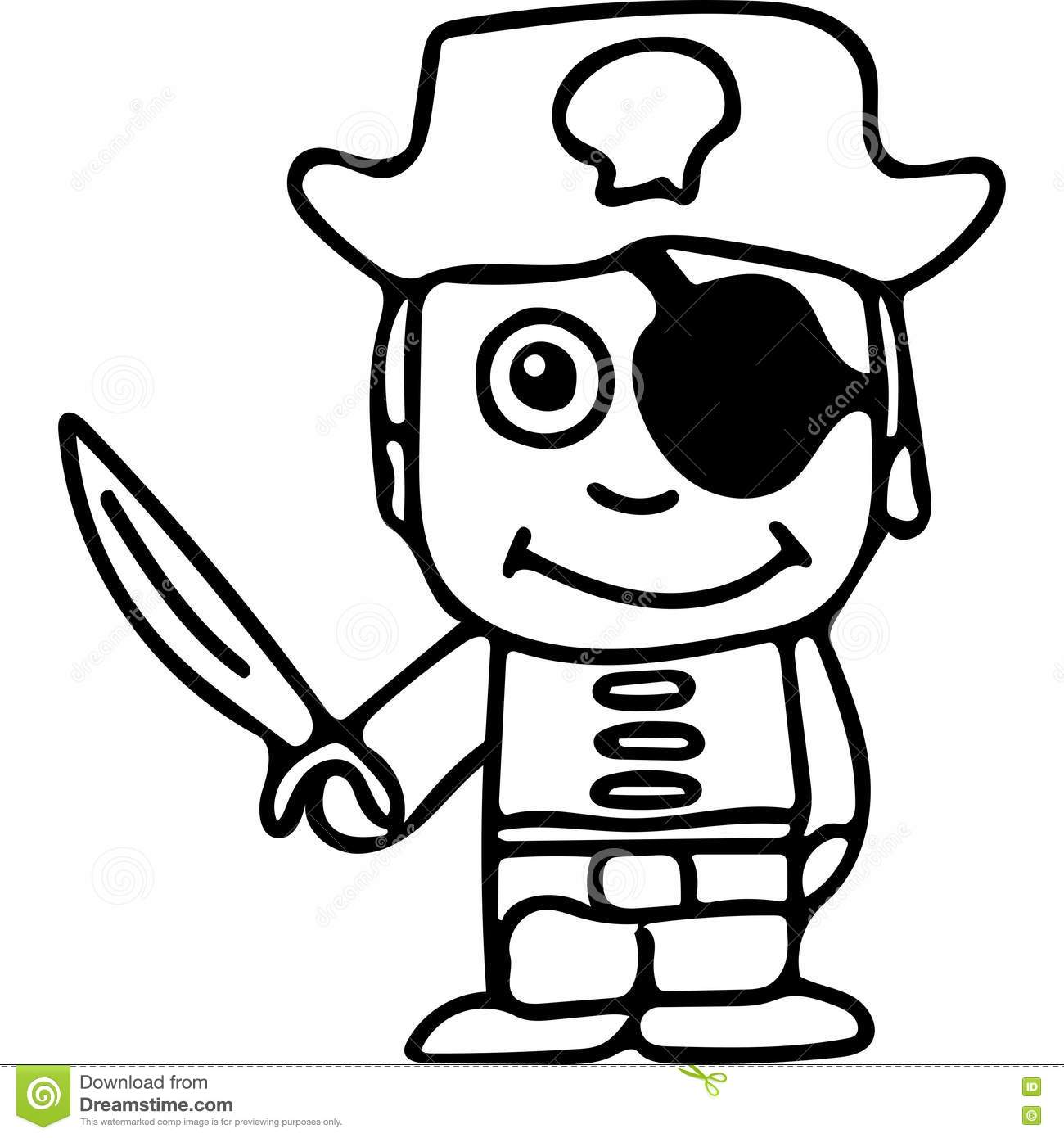 Pirate Hat To Color PNG Image | Transparent PNG Free Download on ... | 1390x1300