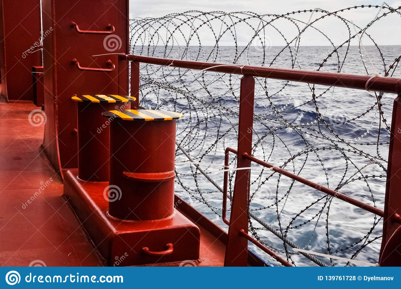 Pirate Protection Measures Onboard Of A Merchant Ship ...