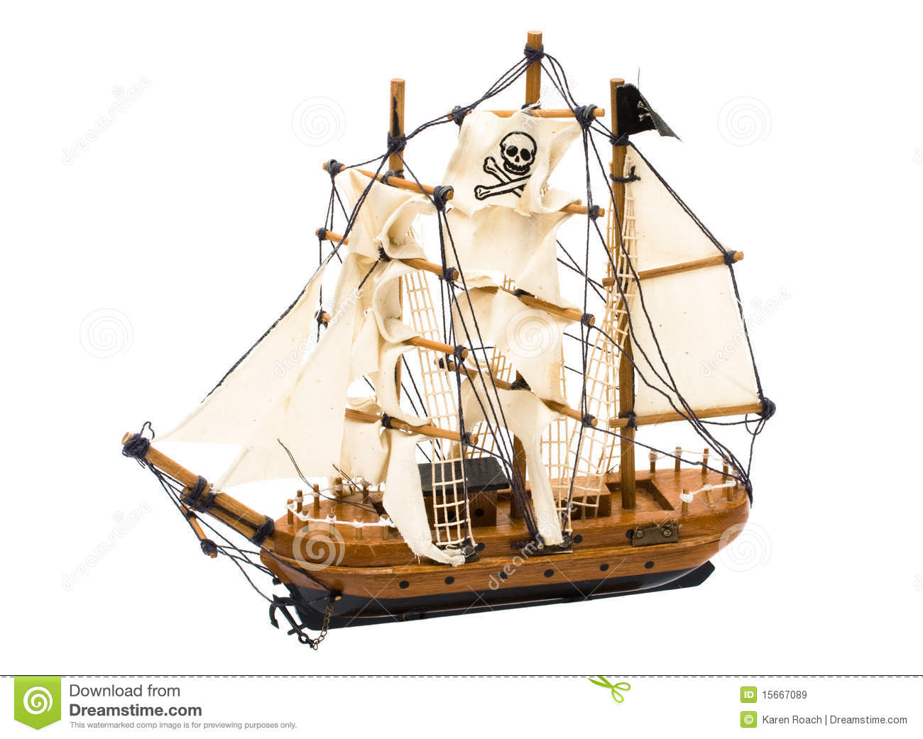 pirate ship royalty free stock images image 15667089