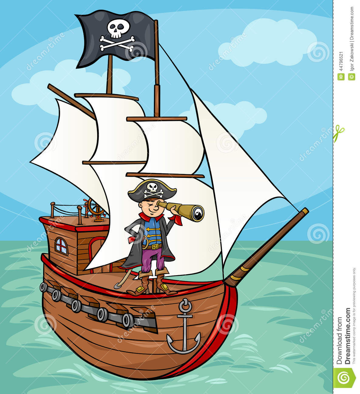 Pirate Ship Stock Images - Image: 31290084