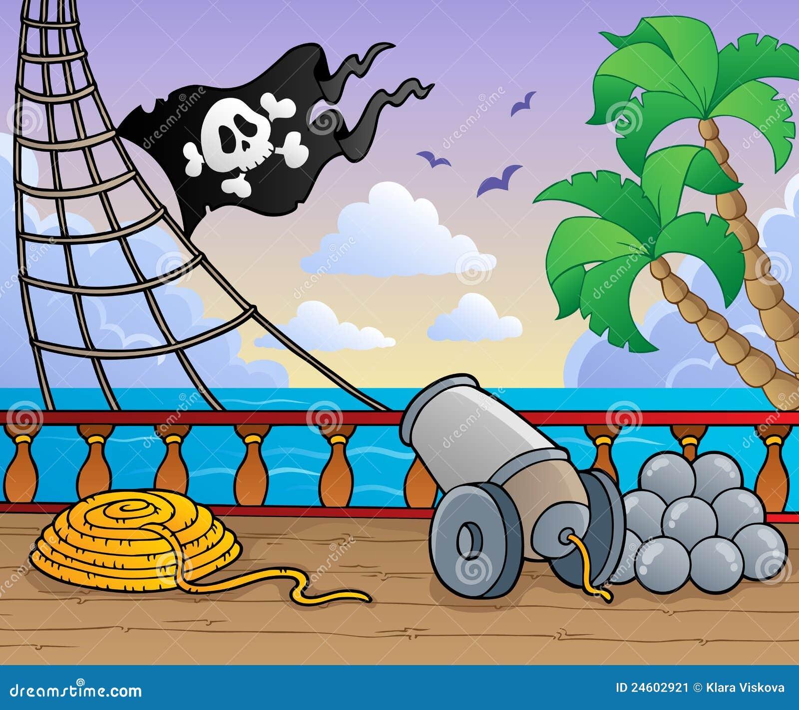 Pirate Ship Deck