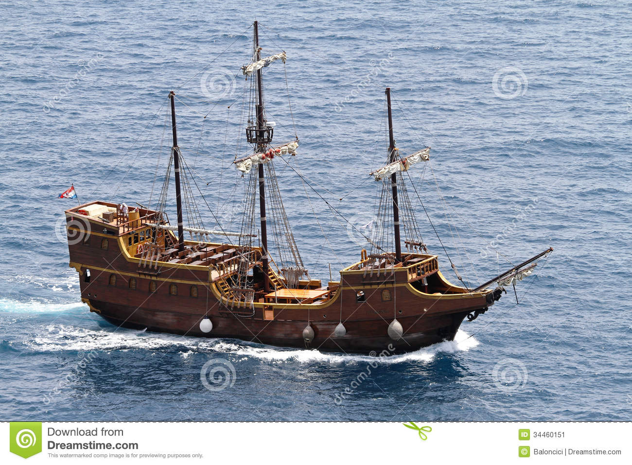 Medieval Ship Of medieval pirate ship