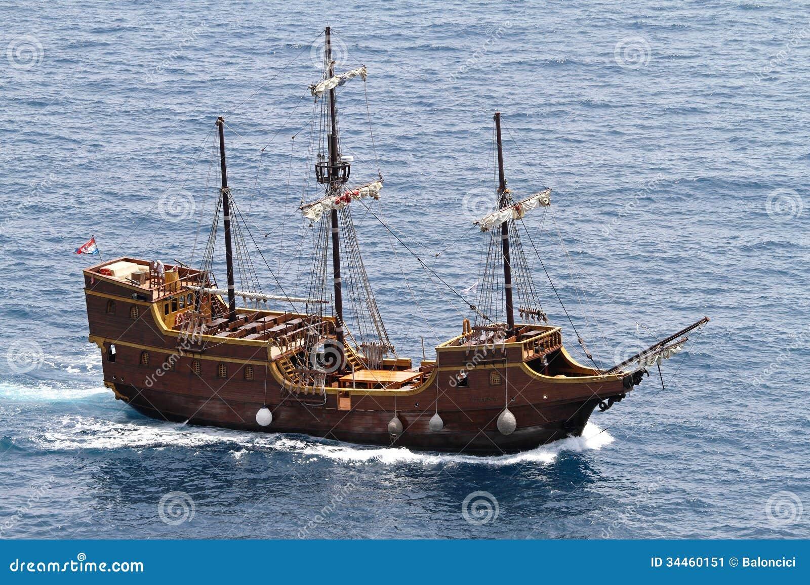 Pirate Ship Editorial Photo - Image: 34460151