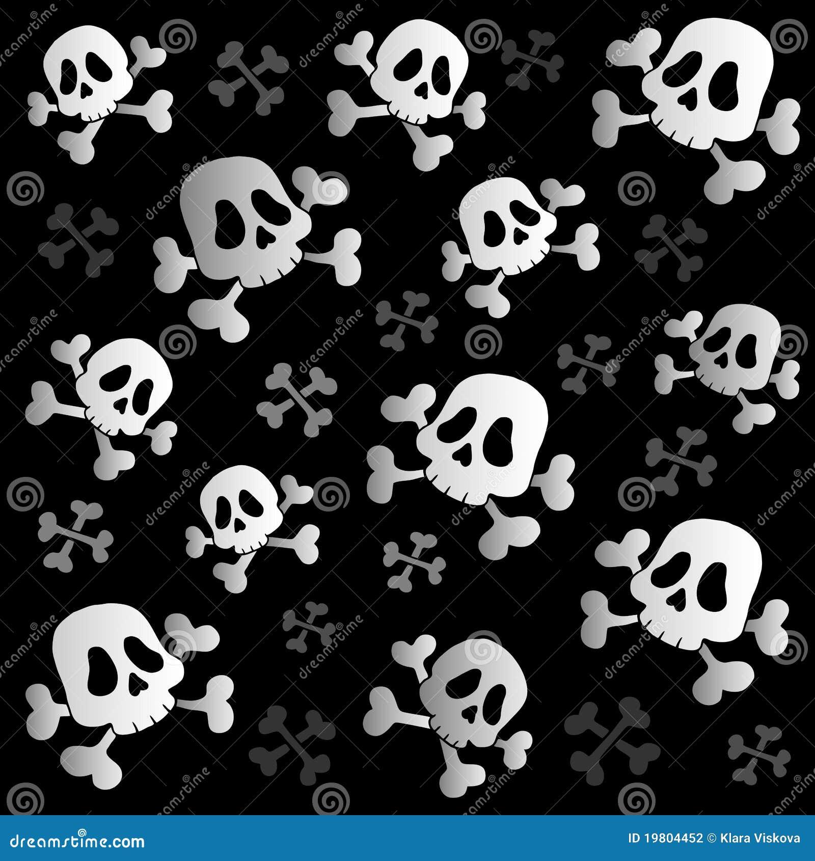 Pirate Skulls And Bones Stock Vector Illustration Of Poison 19804452