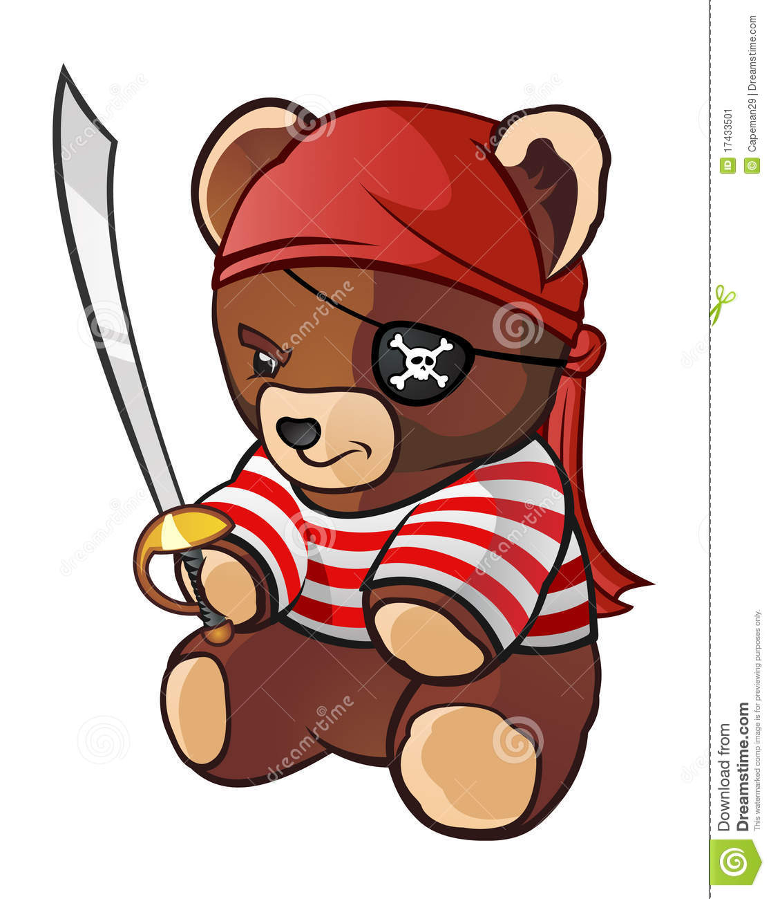 pirate teddy bear stock image image 17433501 octopus clipart free octopus clipart free