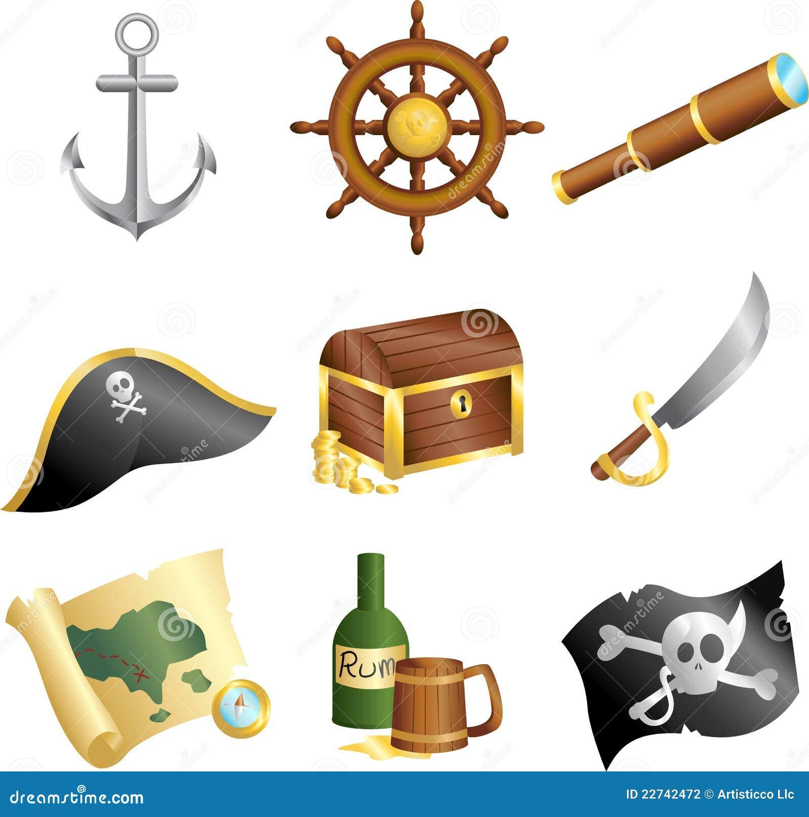 Pirateia ícones