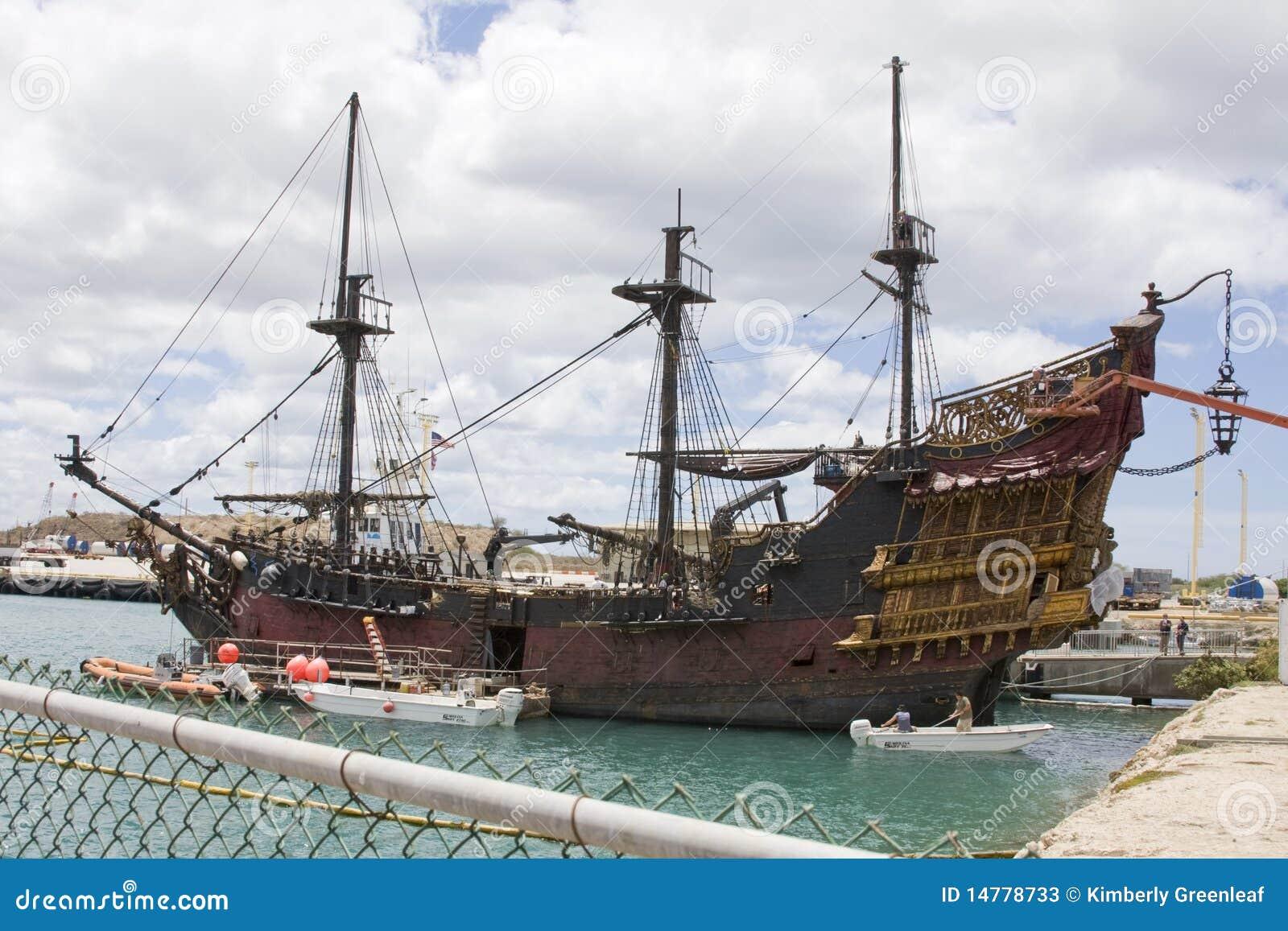 Pirates Of The Caribbean 4 Set Editorial Stock Photo