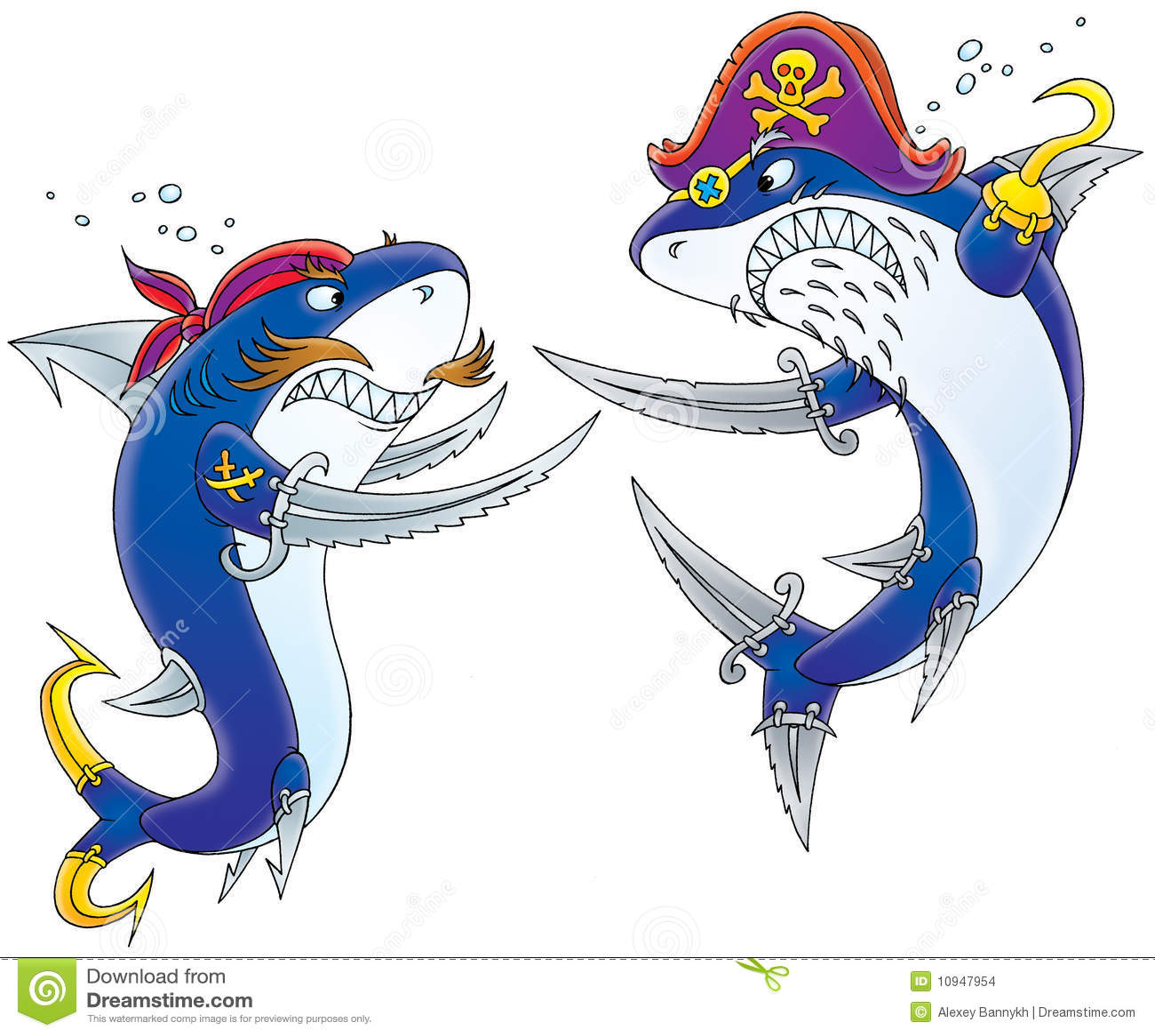 Pirates sharks