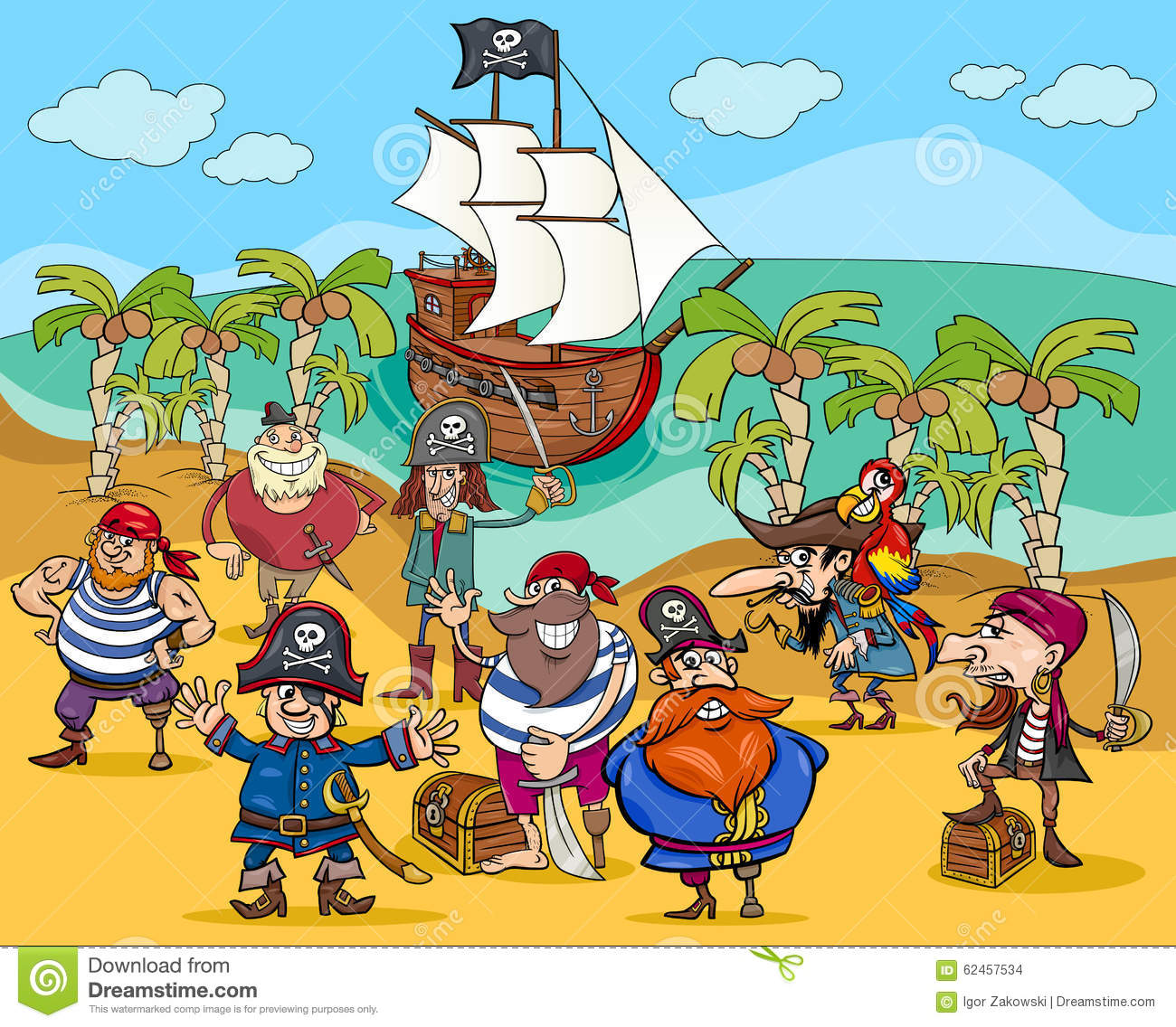 Who Is The Villain In Treasure Island