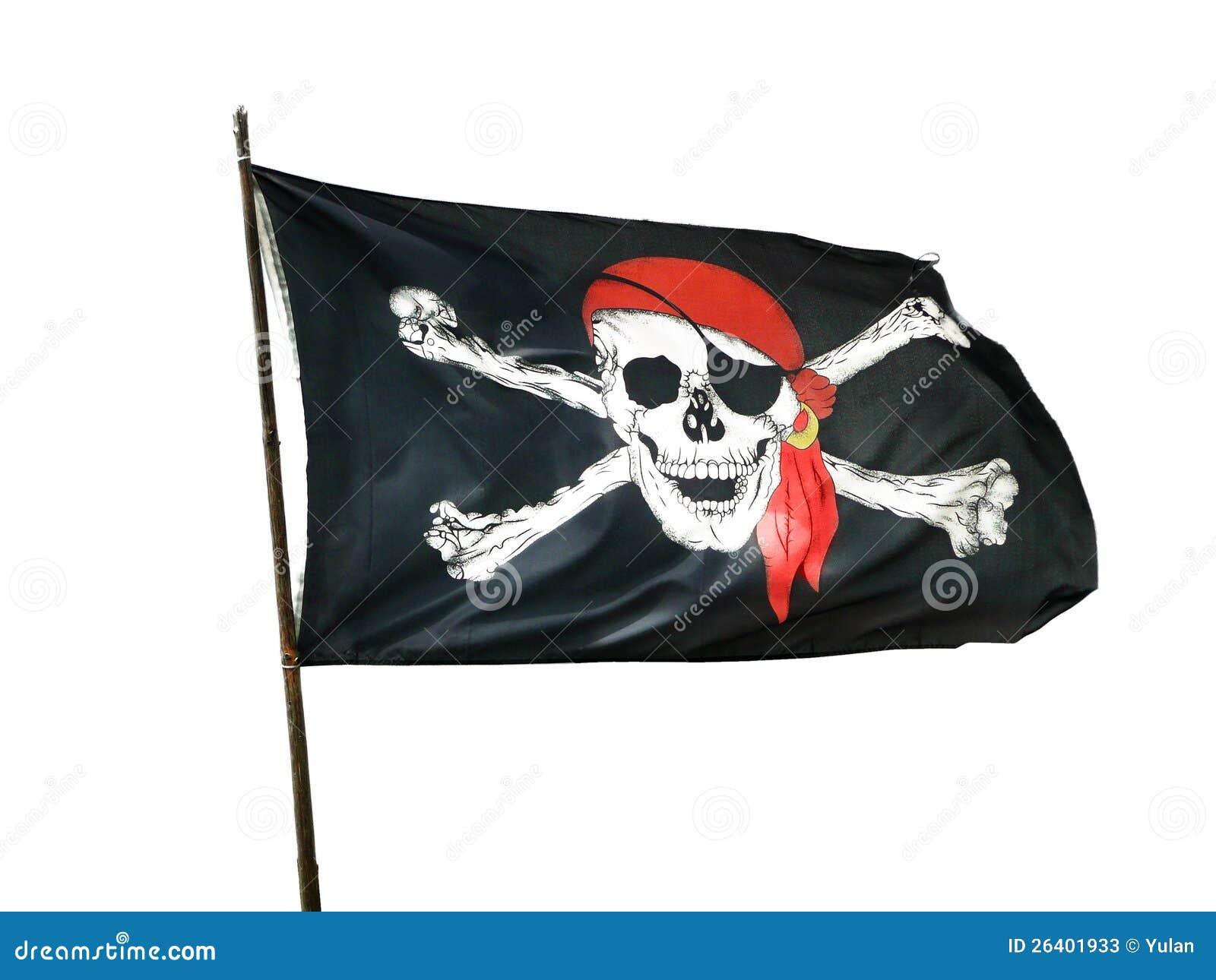 Piratkopiera flaggan