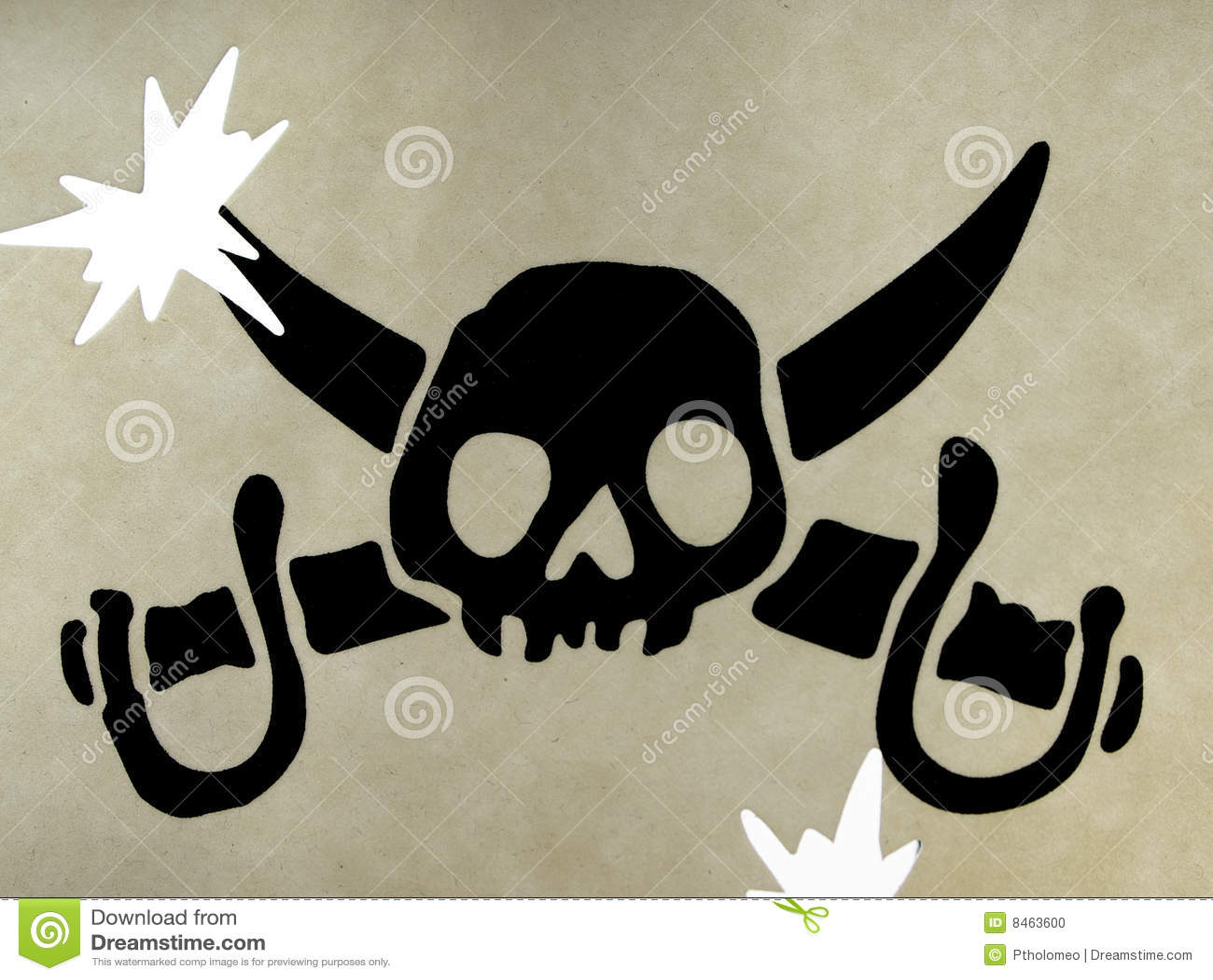 Piratkopierar skallesymbol