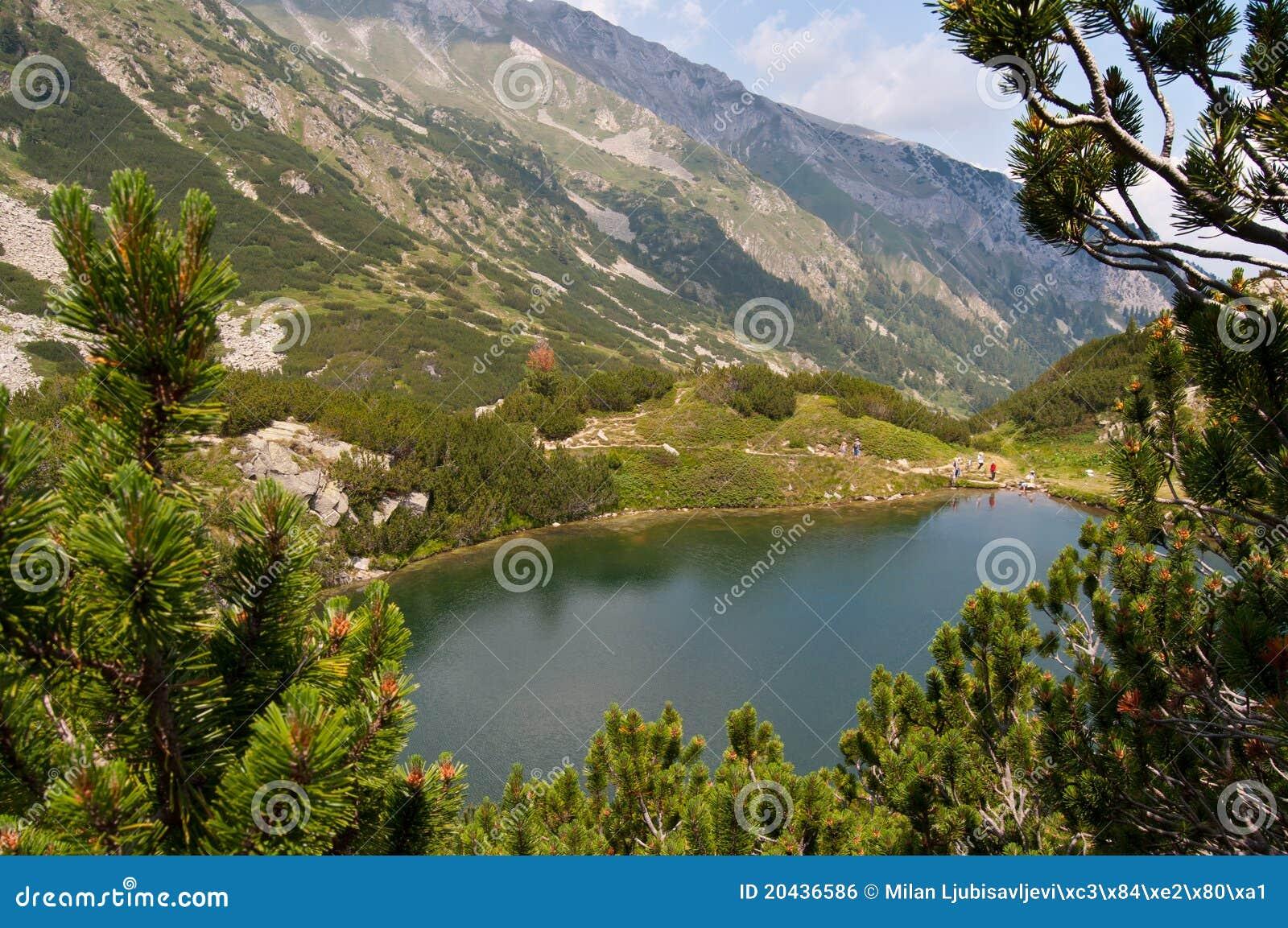 Pirin βουνών λιμνών