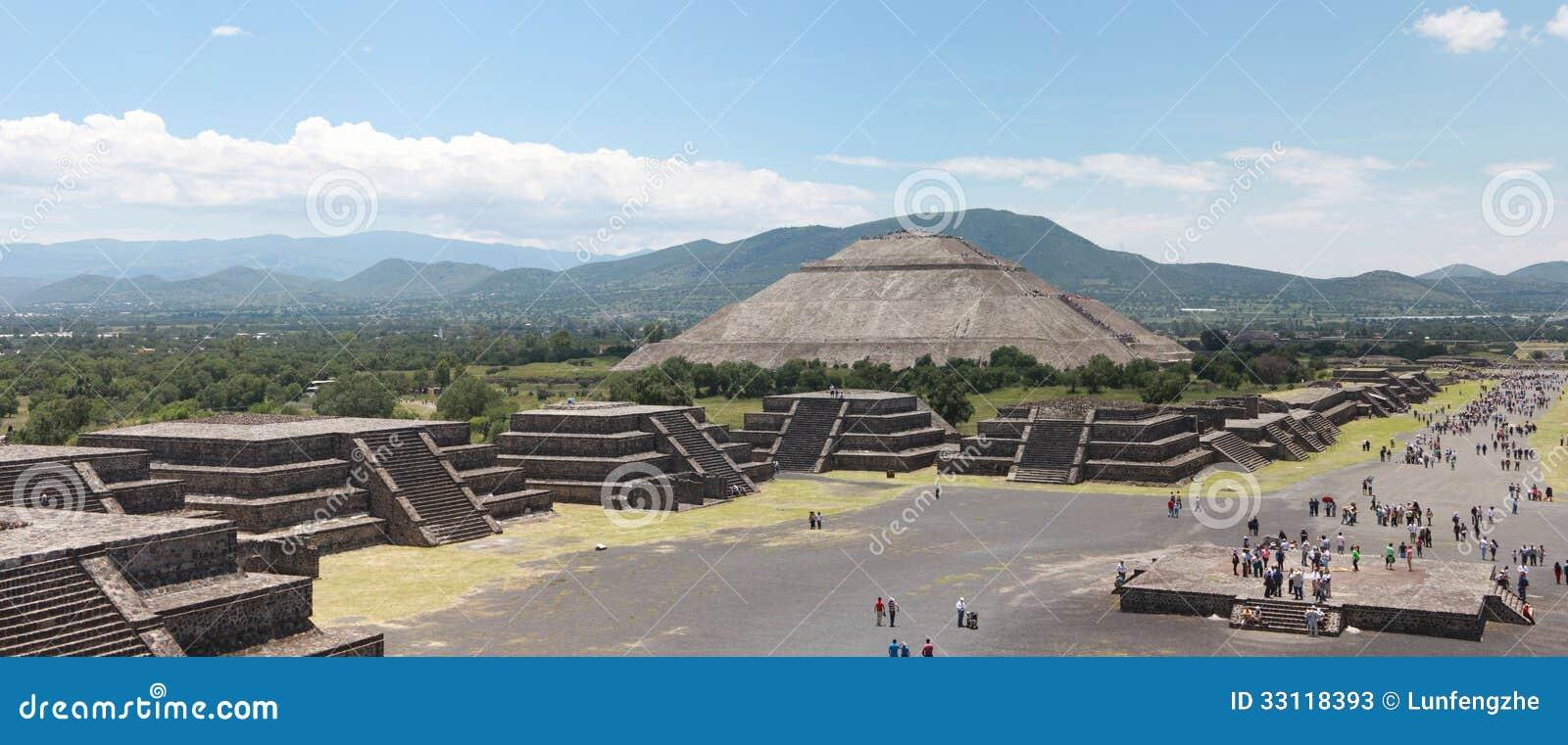 Pirmide Del Sol Teotihuacan | apexwallpapers.com