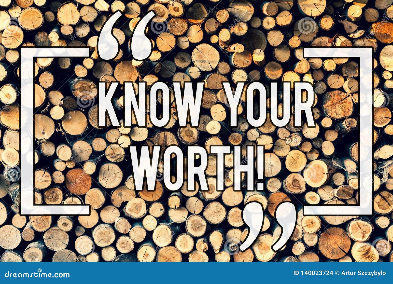 Pisać nutowym seansie Zna Twój Worth Biznesowy fotografii pokazywać Był świadomy demonstratingal wartość Zasługująca dochód pensj