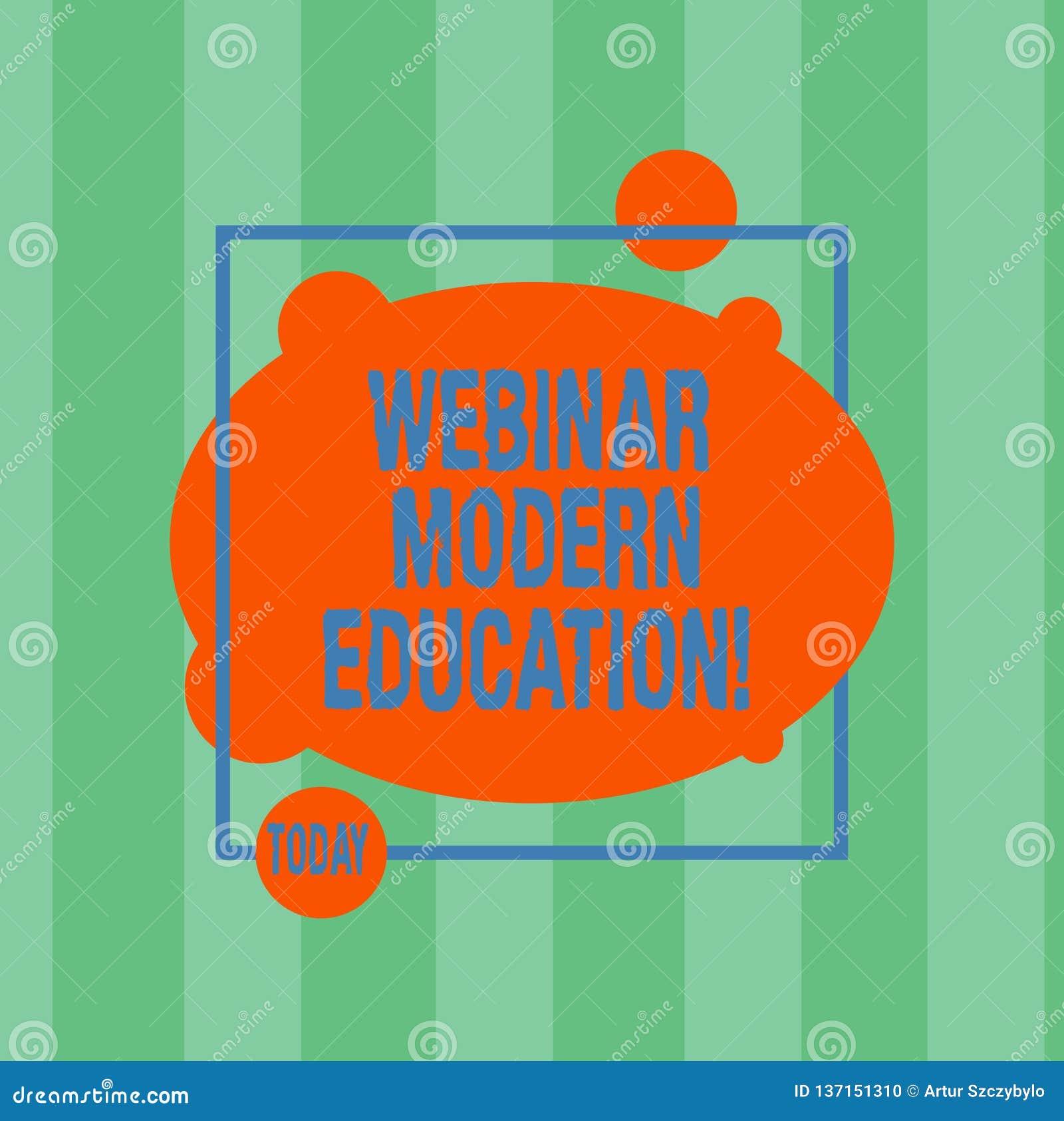 Pisać nutowemu pokazuje Webinar Nowożytnej edukacji Biznesowa fotografia pokazuje proces i praktykę rozwija sieć