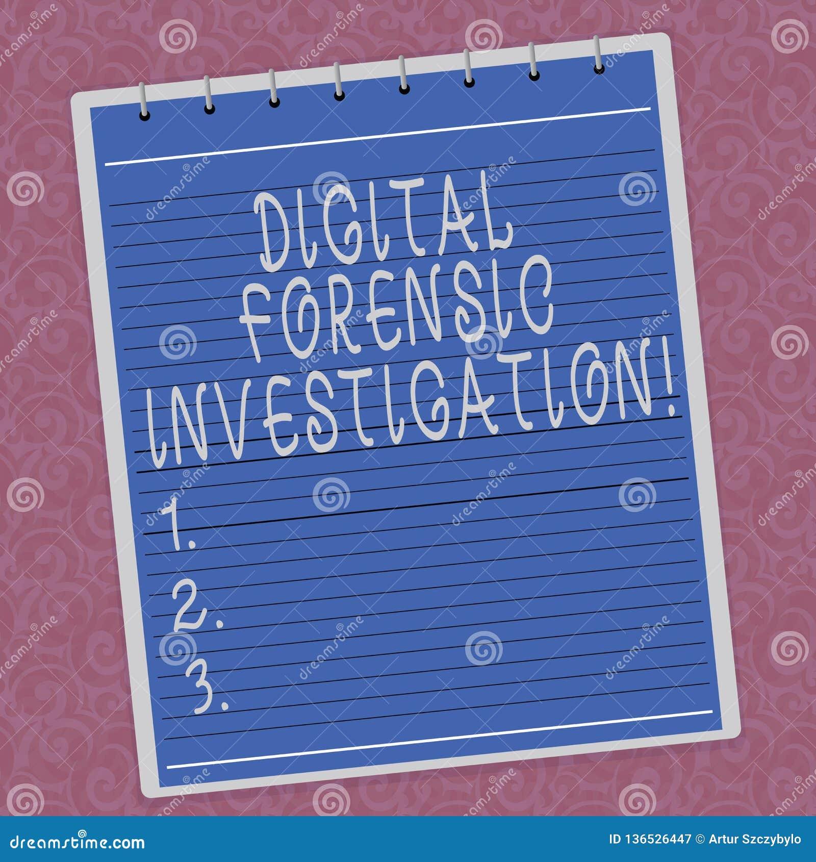 Pisać nutowy pokazuje Cyfrowemu Sądowym dochodzeniu Biznesowa fotografia pokazuje wyzdrowienie informacja od komputer Wykładające