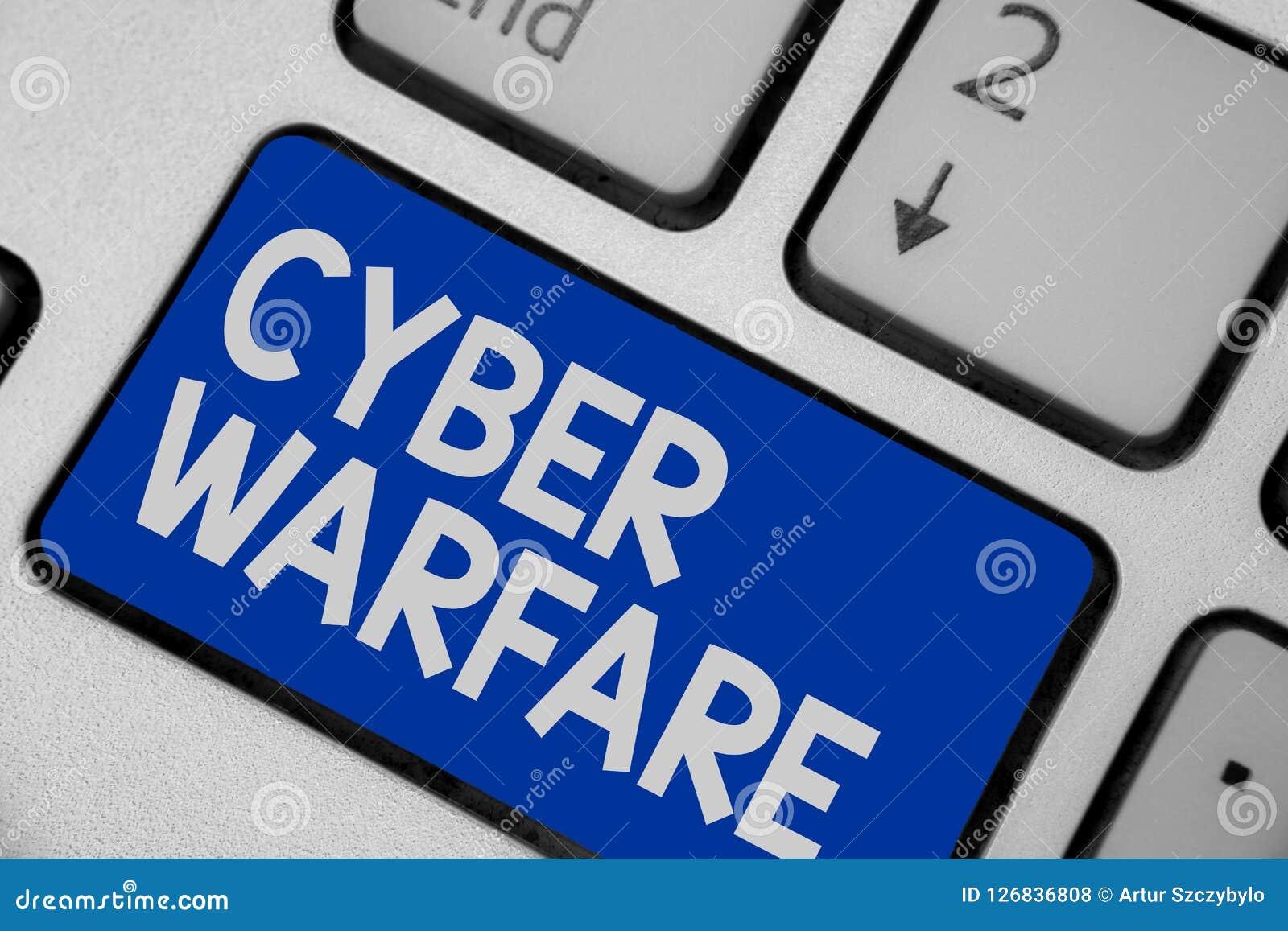 Pisać nutowym pokazuje Cyber działania wojenne Biznesowa fotografia pokazuje Wirtualnego Wojennego hackera system Atakuje Cyfrowe