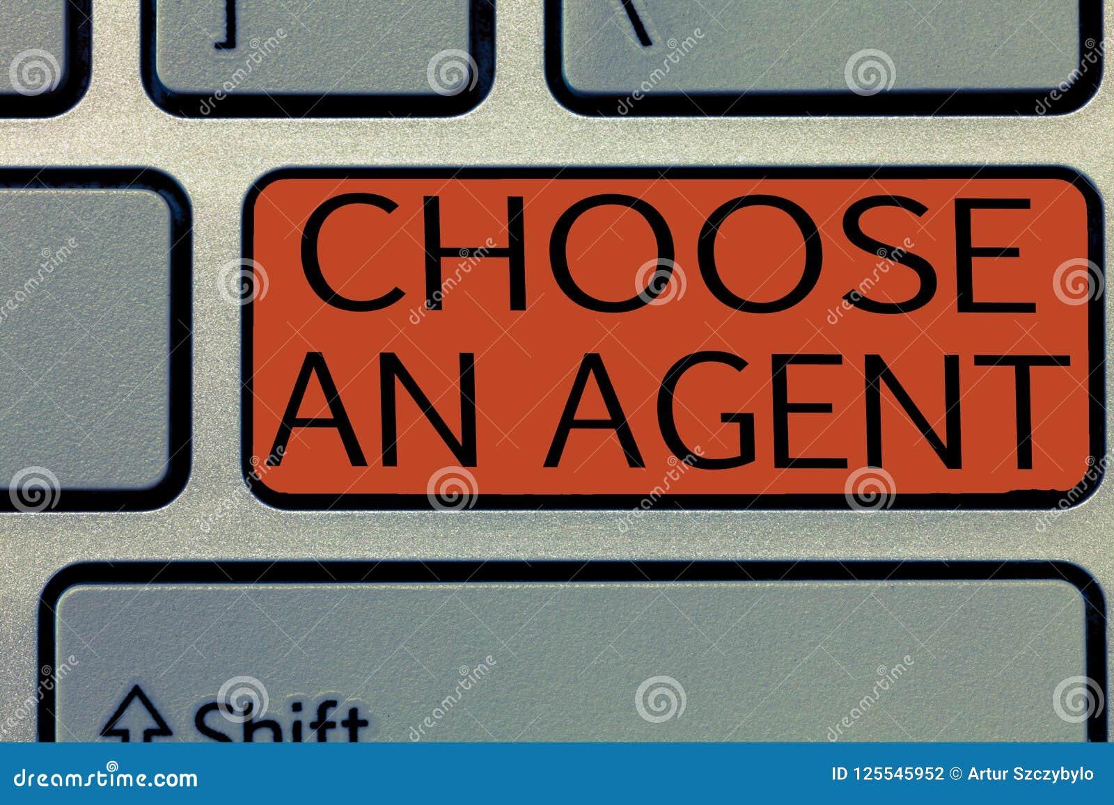 Pisać nutowym seansie Wybiera agenta Biznesowy fotografii pokazywać Wybiera someone który wybiera decyzje w imieniu ciebie