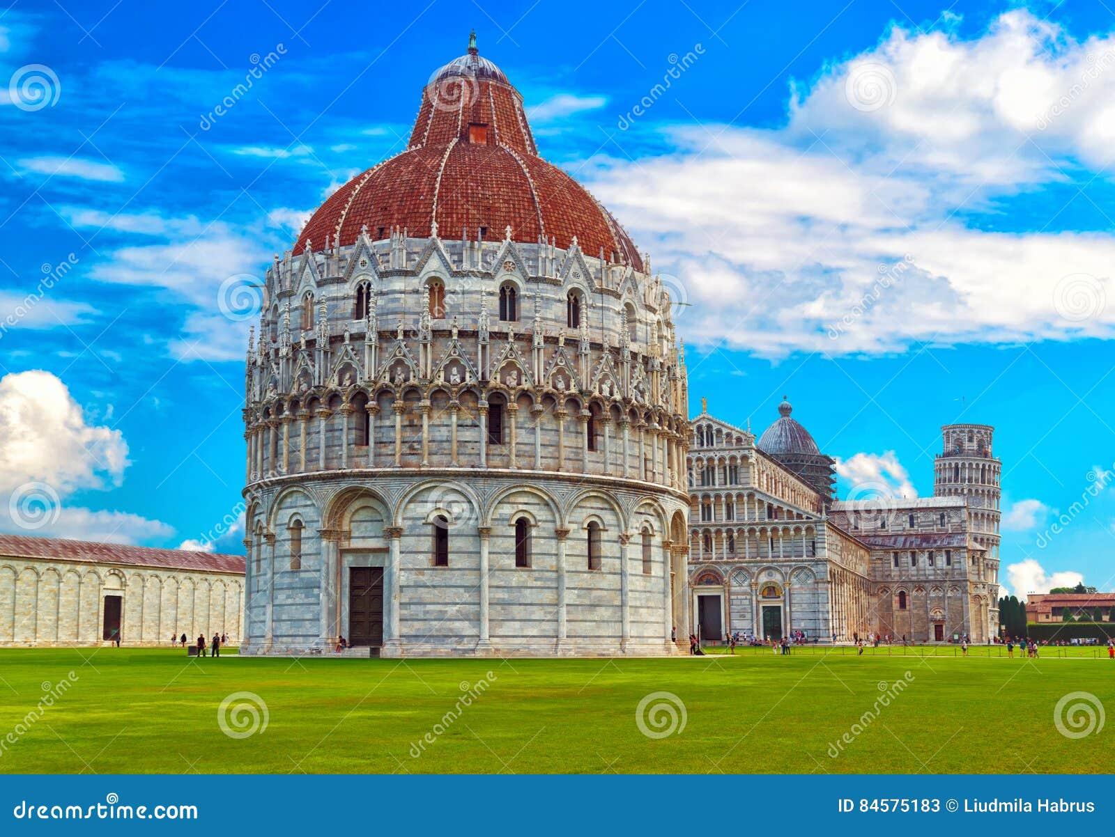 The Pisa Baptistery Of St. John Battistero Di San Giovanni ...