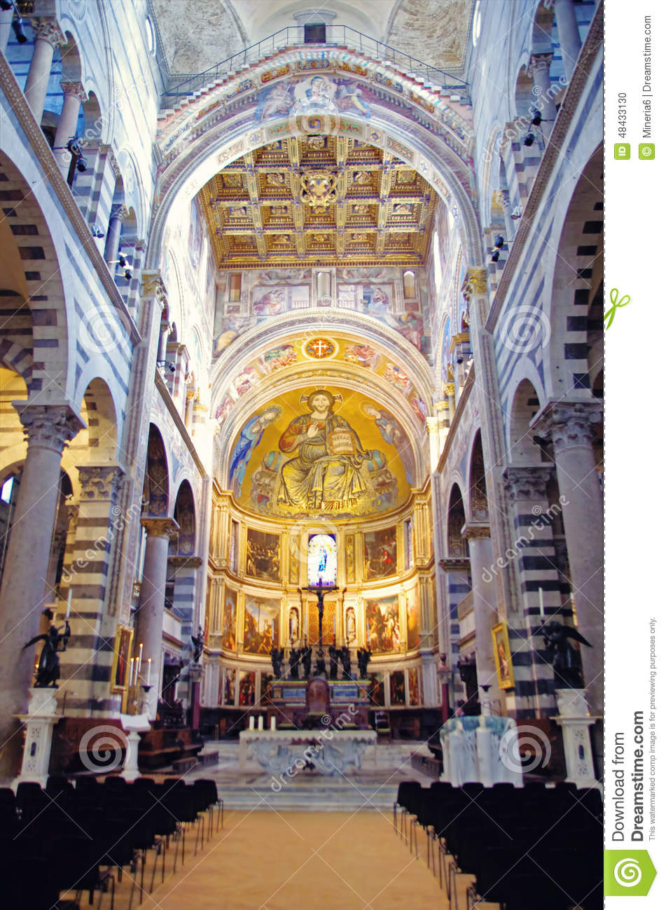 Pisa Cathedral Editorial Image Image Of Pisa Religion