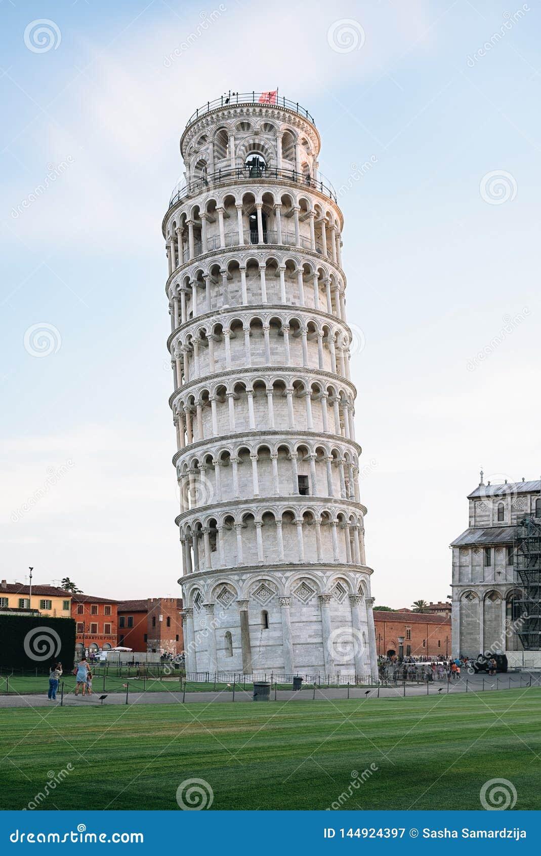Pisa-Kontrollturm, Italien
