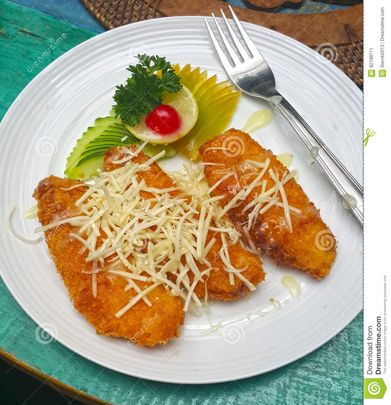 Pisang Goreng Stock Image Image Of Cinnamon Delicious 82799711