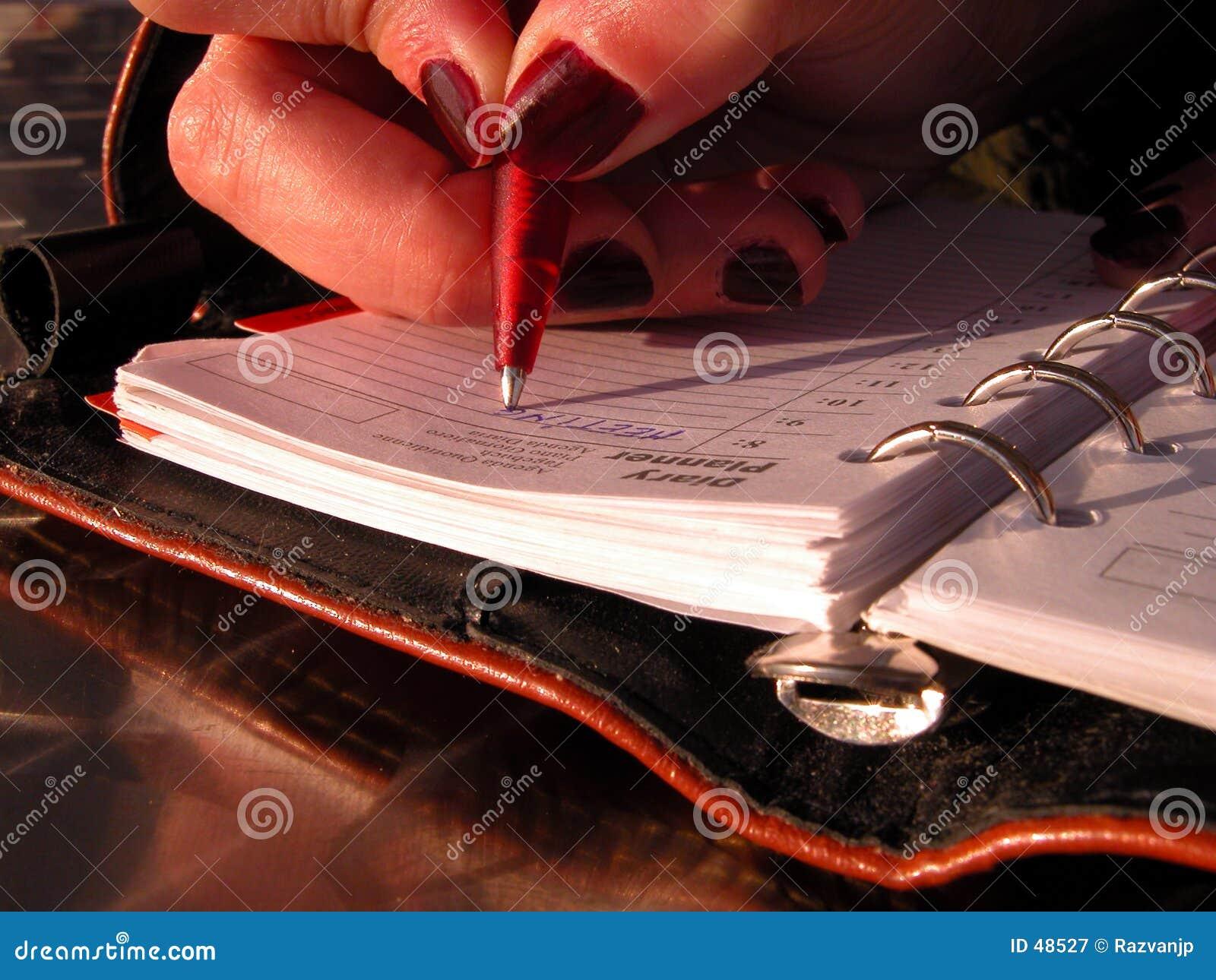 Pisanie harmonogram
