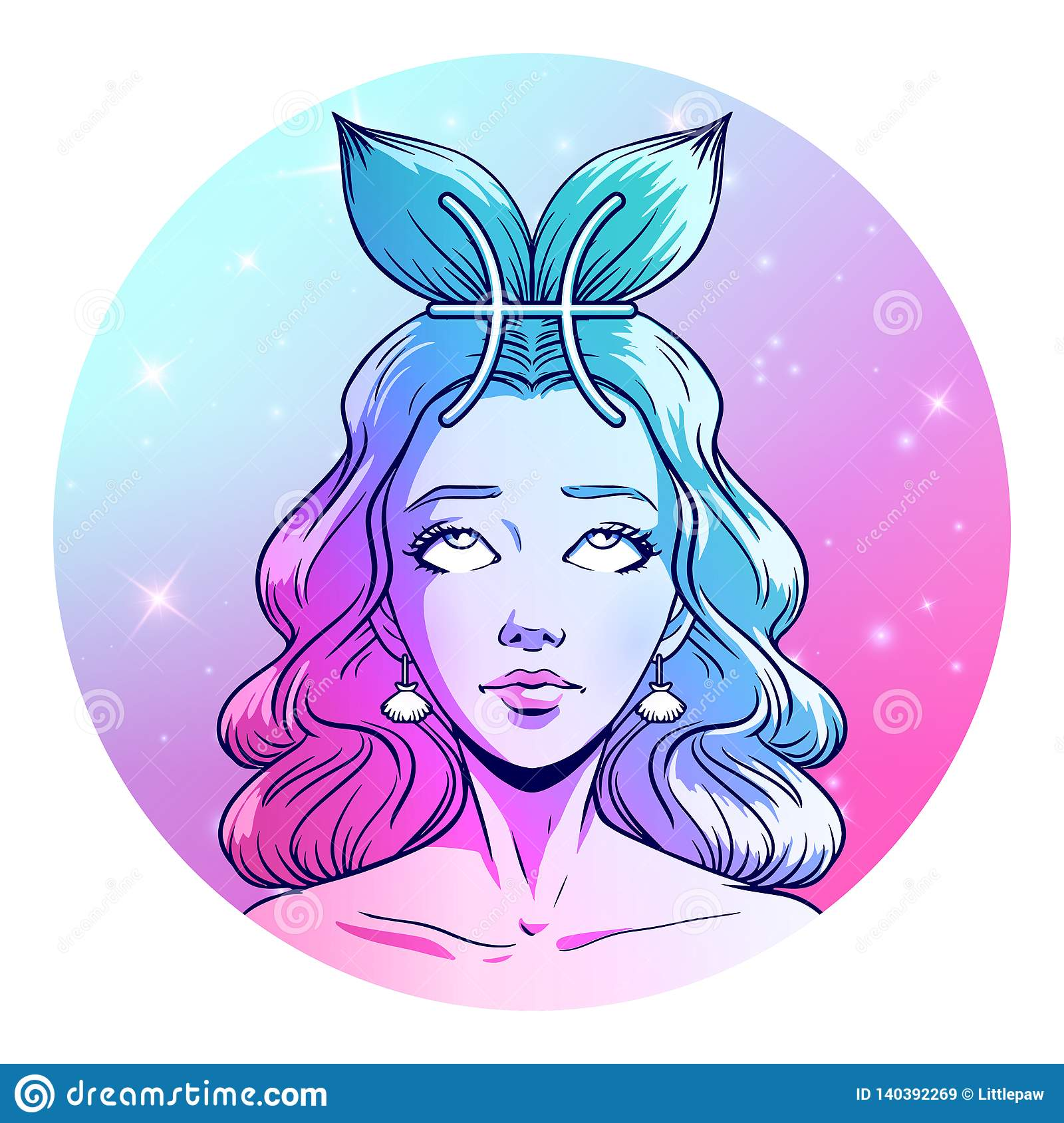 10 Best For Zodiac Sign Pisces Girl Drawing