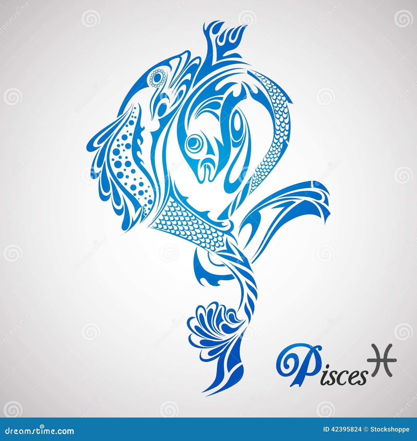 Знак зодиака рыбы тату